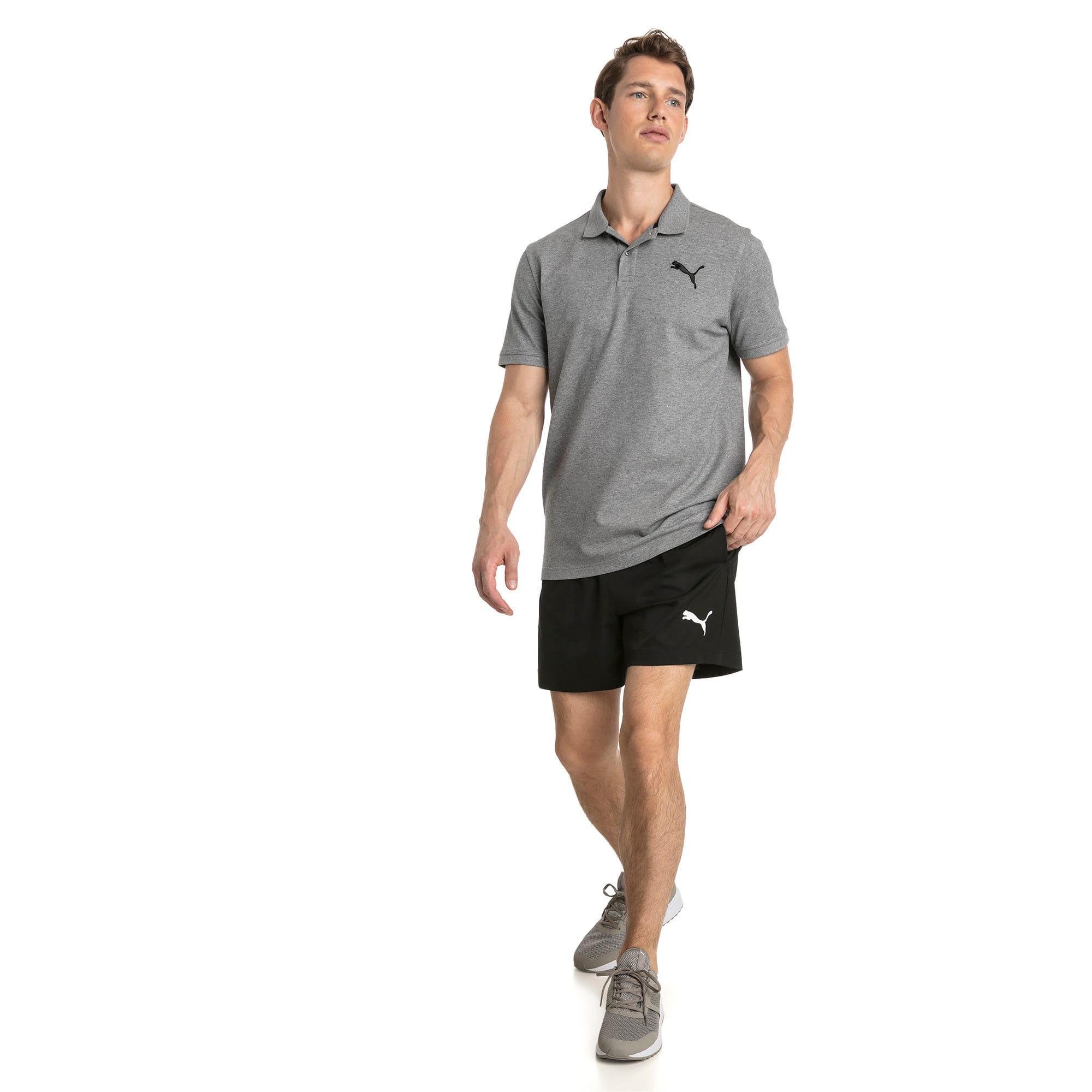 "Thumbnail 3 of Active Woven 5"" Men's Training Shorts, Puma Black, medium"