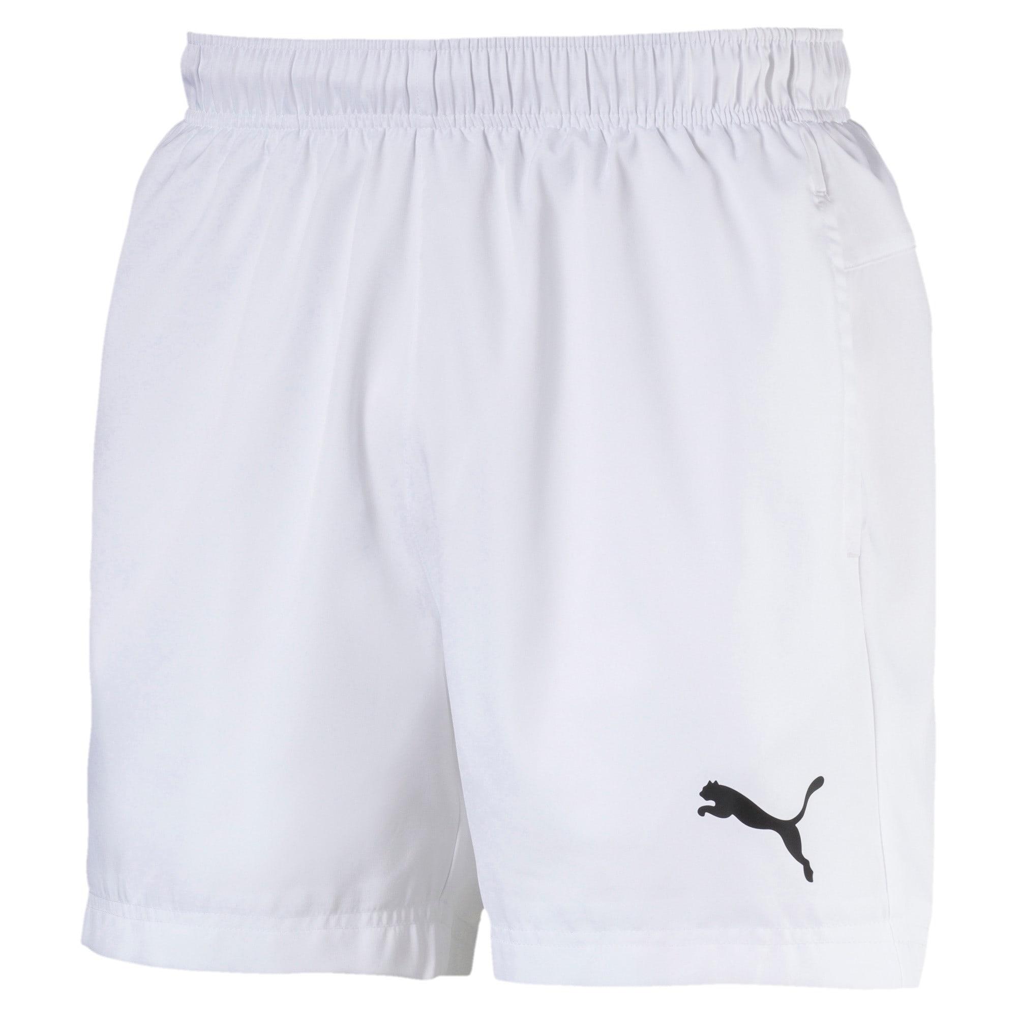 "Thumbnail 1 of Active Woven 5"" Men's Training Shorts, Puma White, medium"
