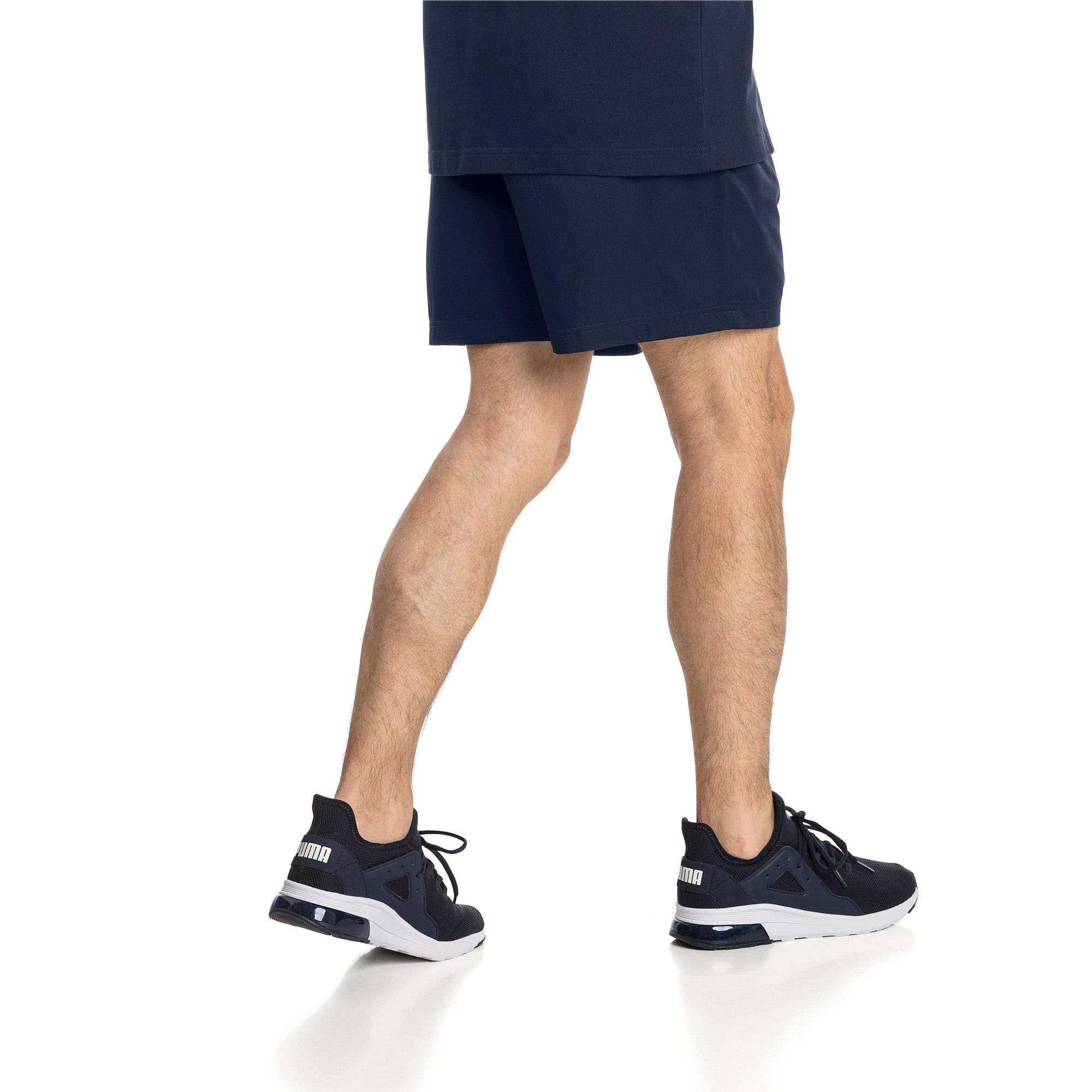 "Thumbnail 2 of Active Woven 5"" Men's Training Shorts, Peacoat, medium"
