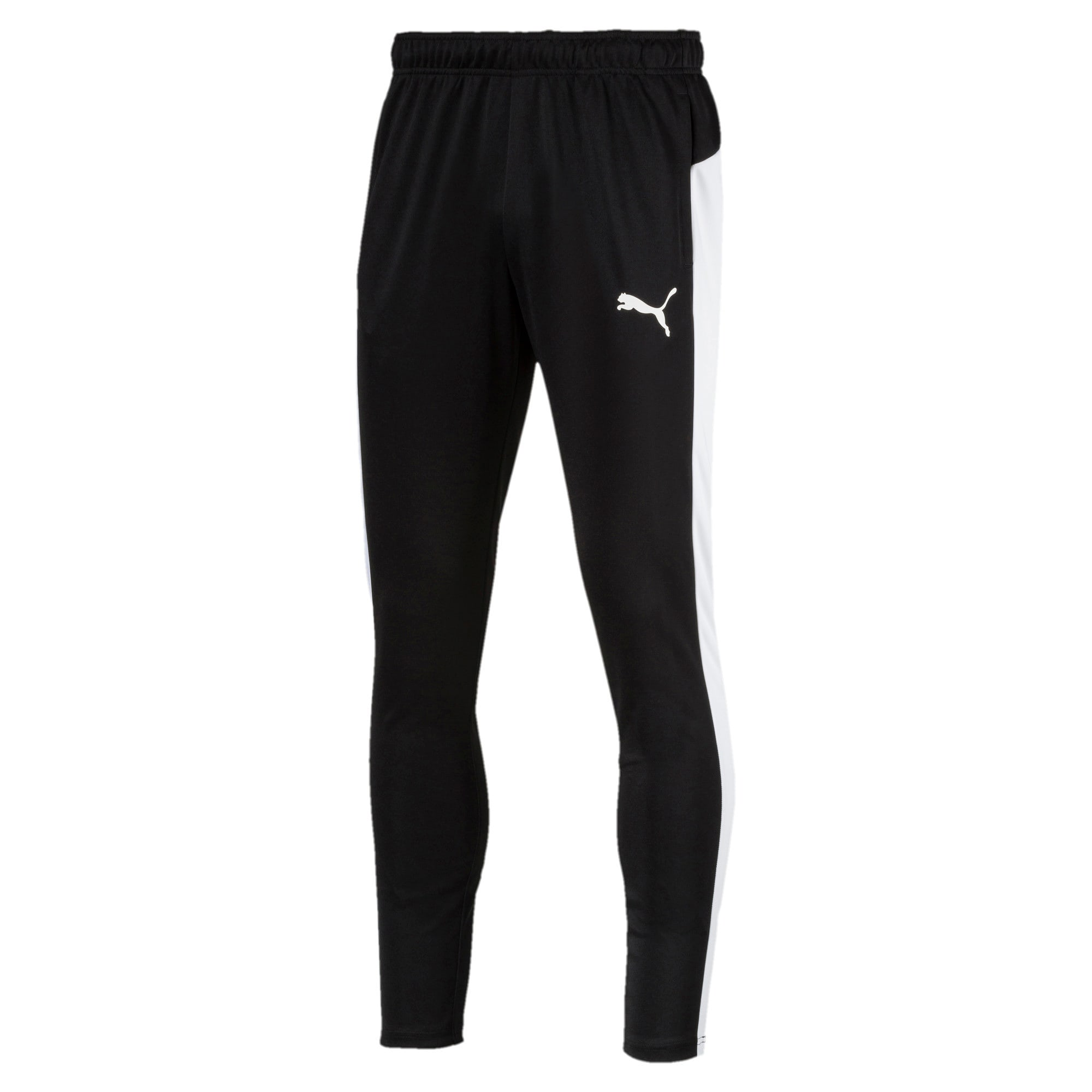 Thumbnail 1 of Active Herren Tricot Sweatpants, Puma Black-Puma White, medium