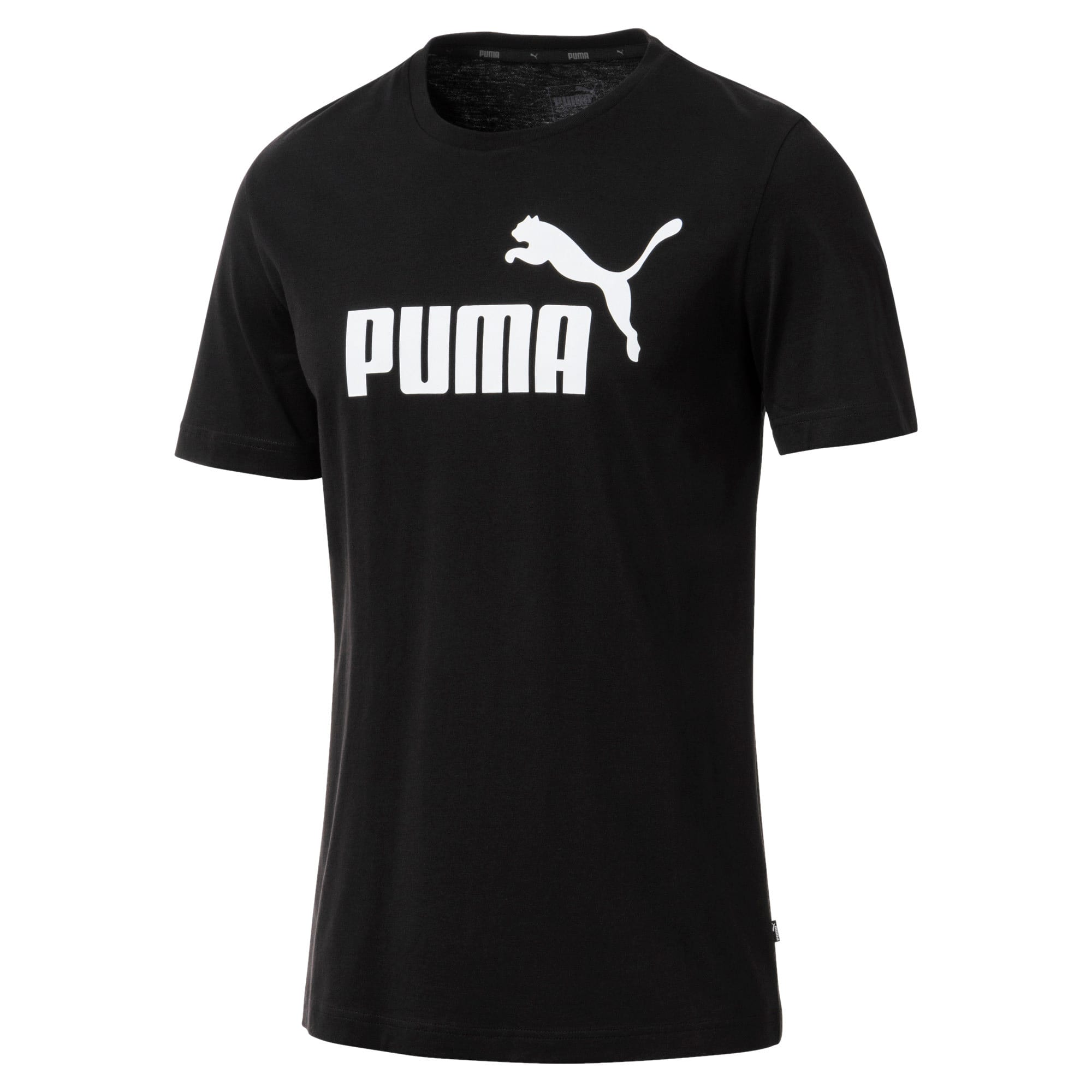 Thumbnail 1 of T-shirt a maniche corte Essentials uomo, Cotton Black, medium