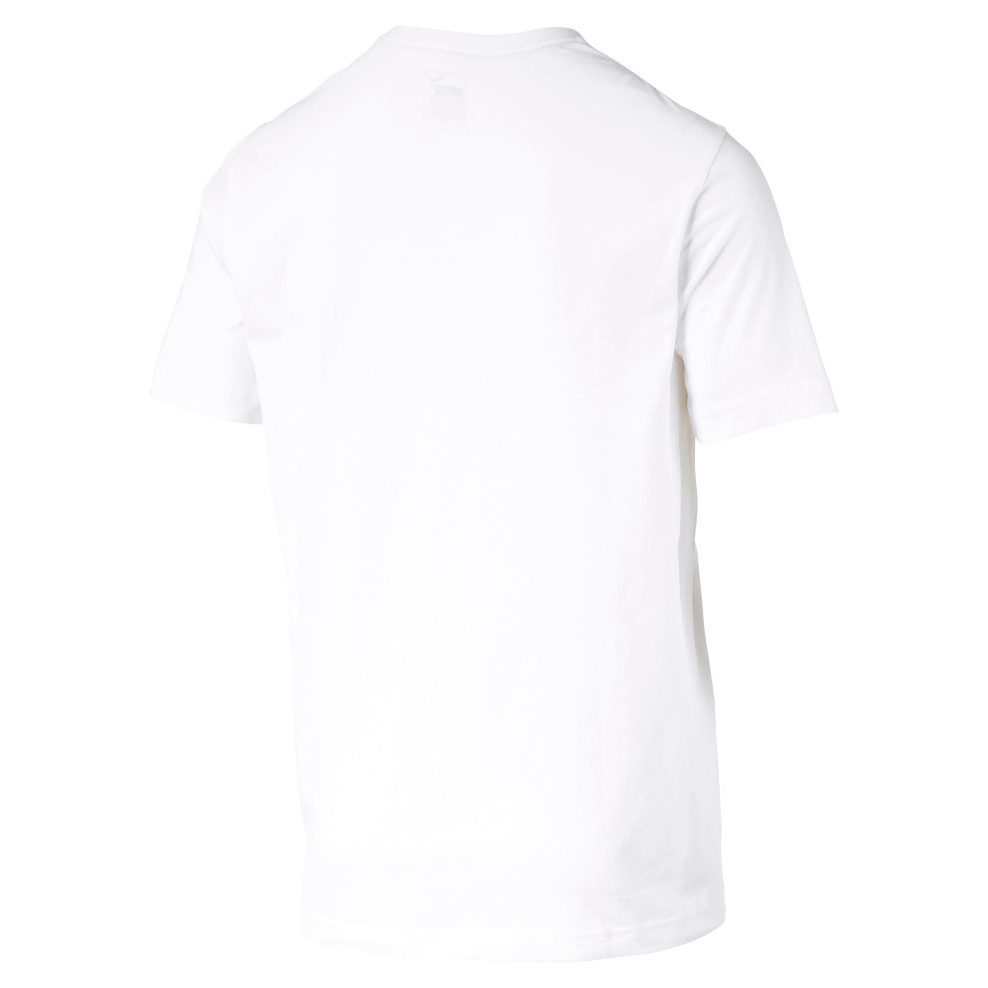 Thumbnail 5 of T-shirt a maniche corte Essentials uomo, Puma White, medium