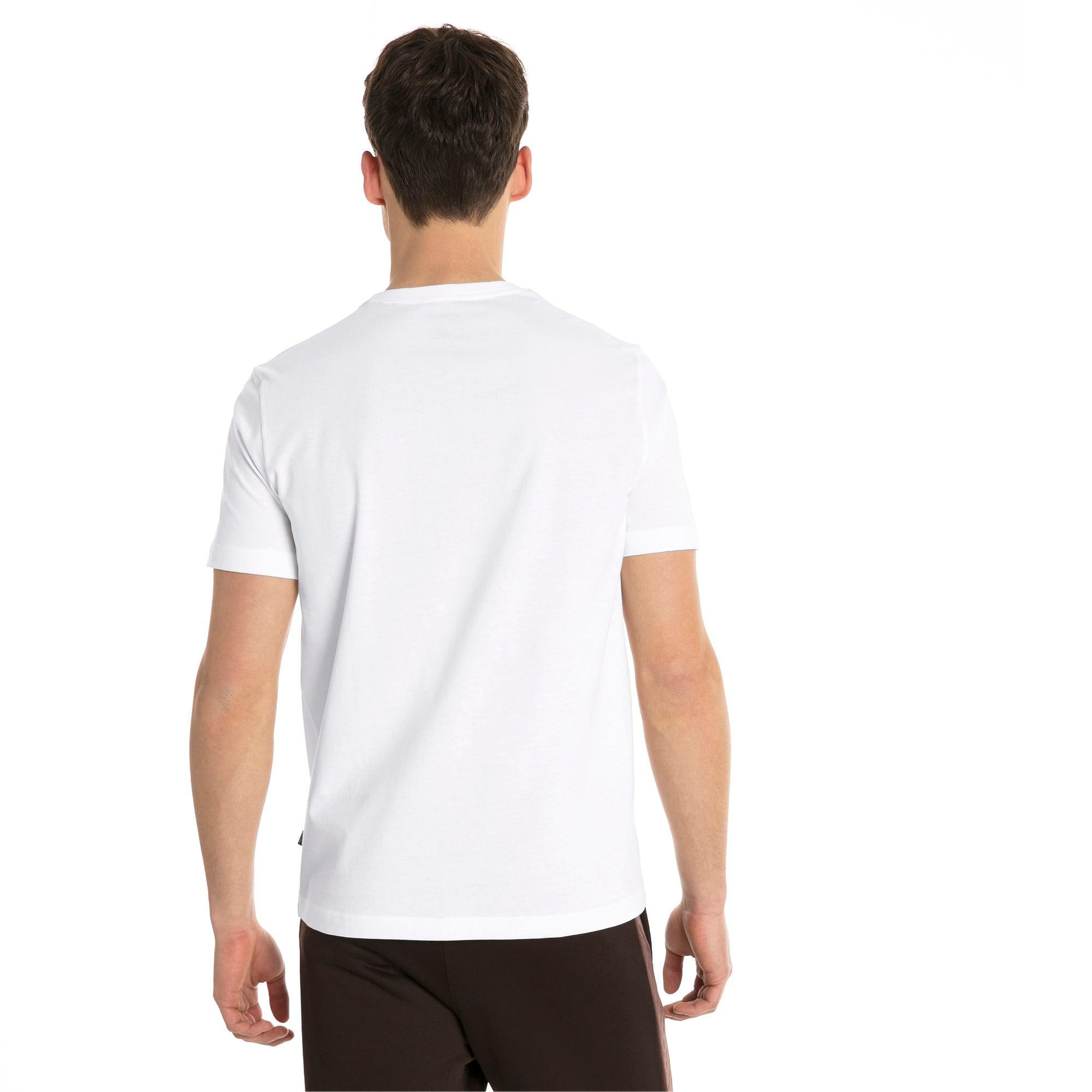 Thumbnail 2 of T-shirt a maniche corte Essentials uomo, Puma White, medium