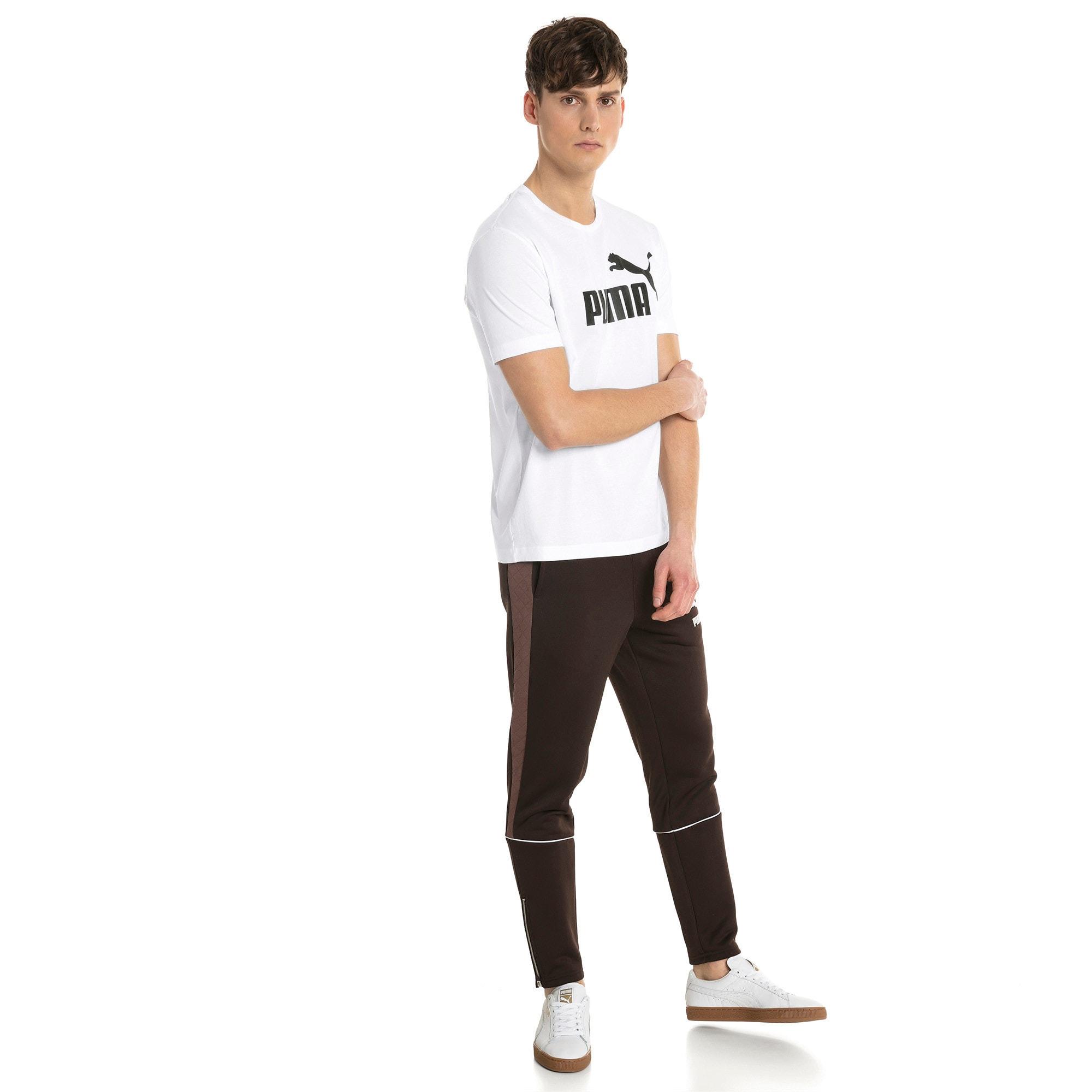 Thumbnail 3 of T-shirt a maniche corte Essentials uomo, Puma White, medium