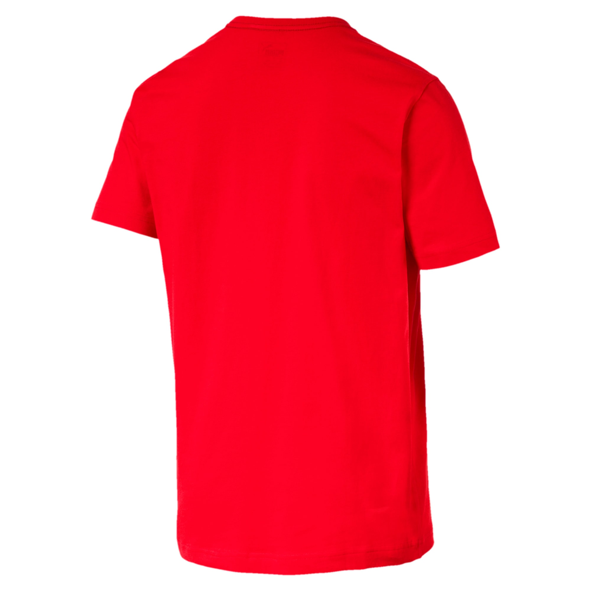 Thumbnail 5 of T-shirt a maniche corte Essentials uomo, Puma Red, medium