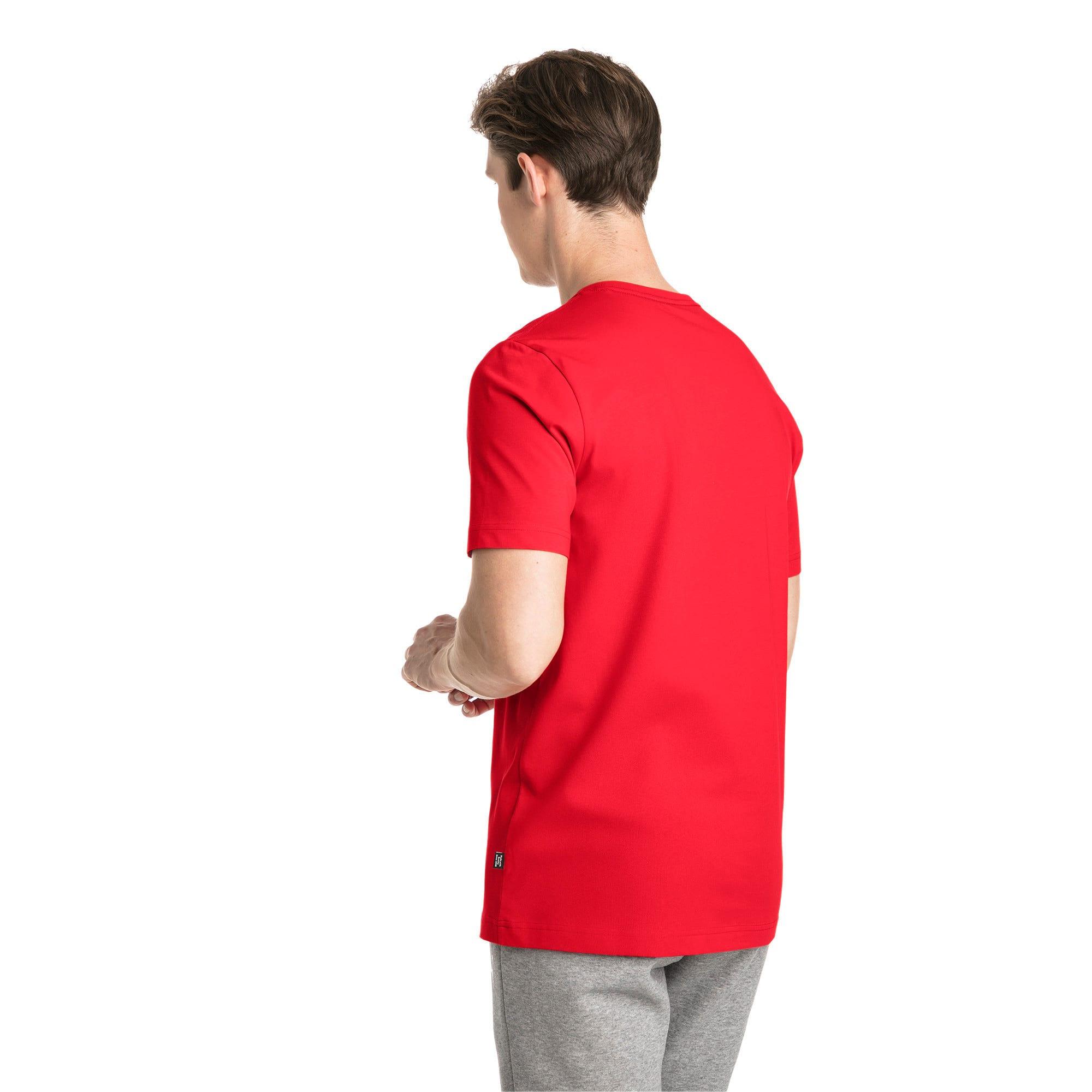 Thumbnail 2 of T-shirt a maniche corte Essentials uomo, Puma Red, medium