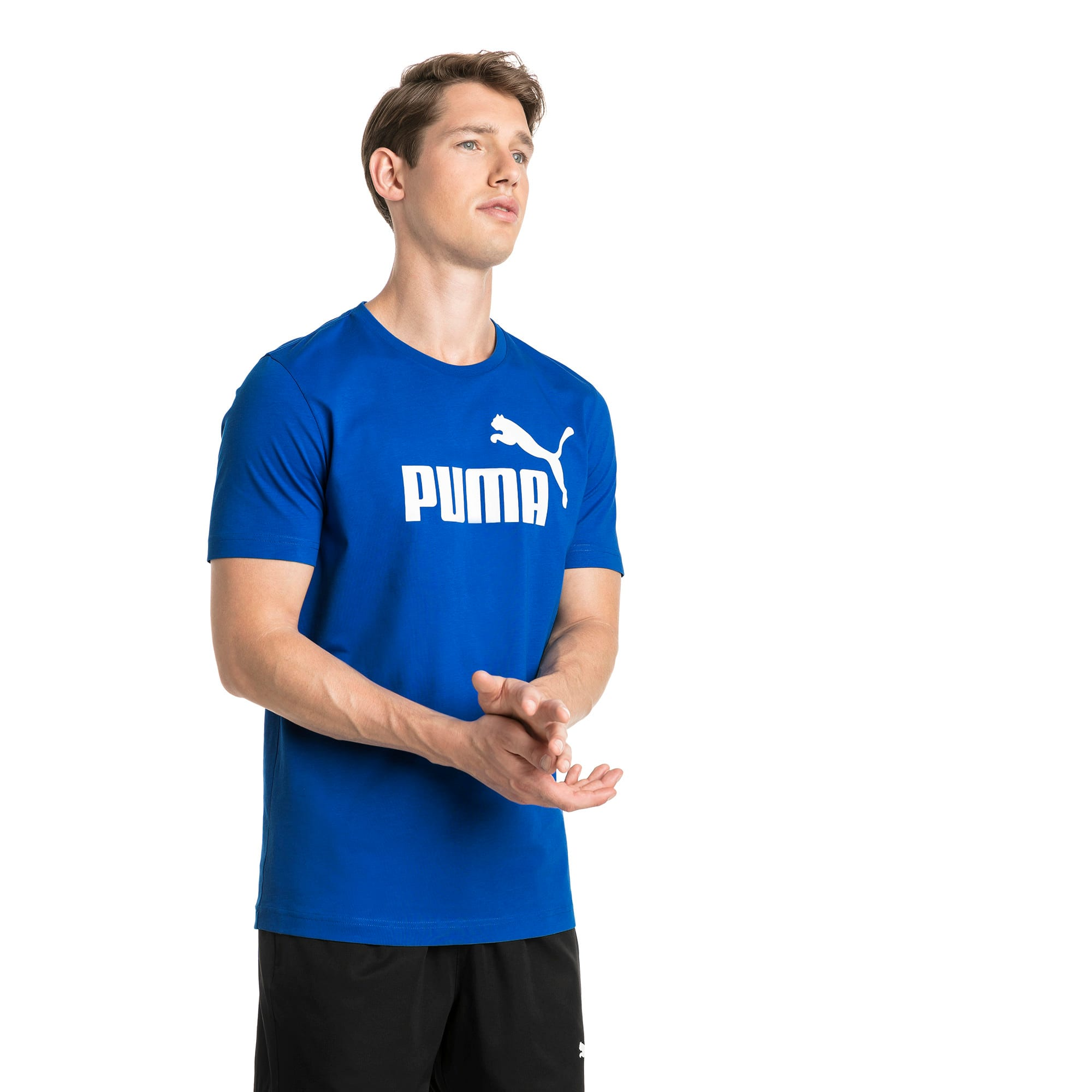 Thumbnail 1 of T-shirt a maniche corte Essentials uomo, Puma Royal, medium