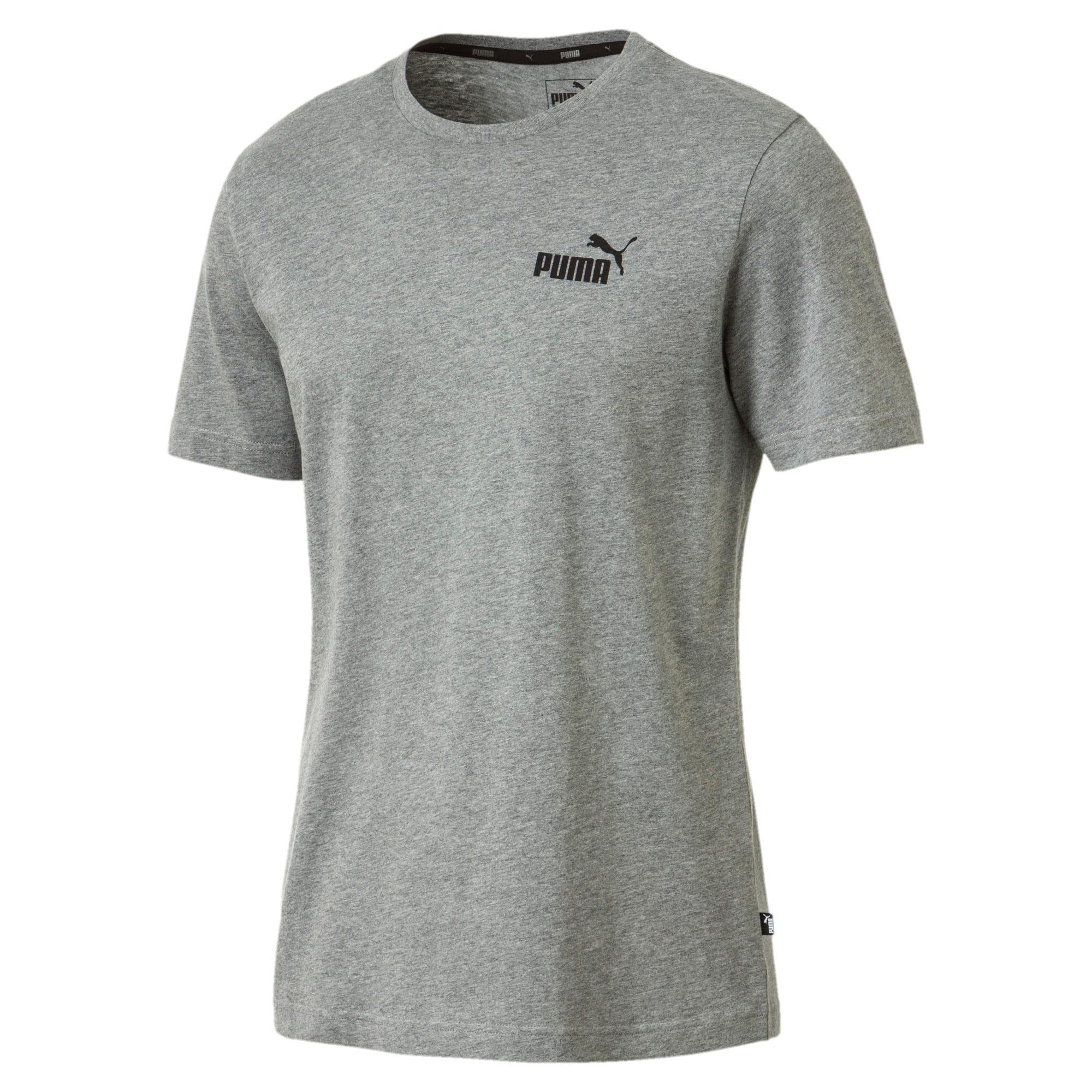 Thumbnail 1 of T-shirt con logo piccolo Essentials uomo, Medium Gray Heather, medium