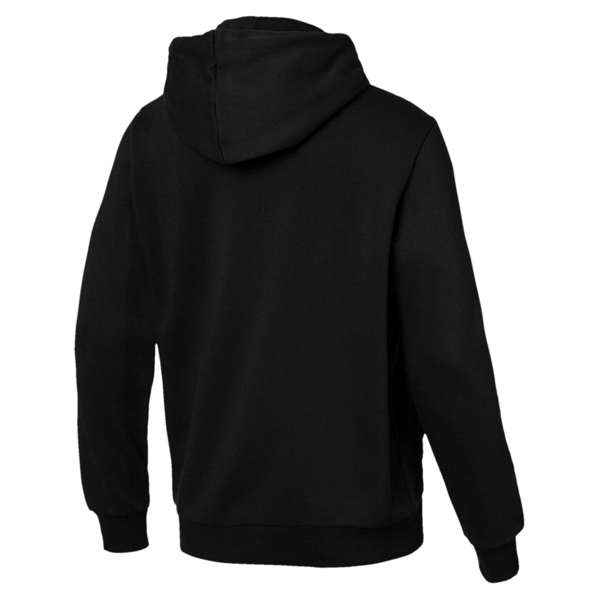 Thumbnail 5 van Essentials fleece hoodie voor mannen, Puma Black, medium