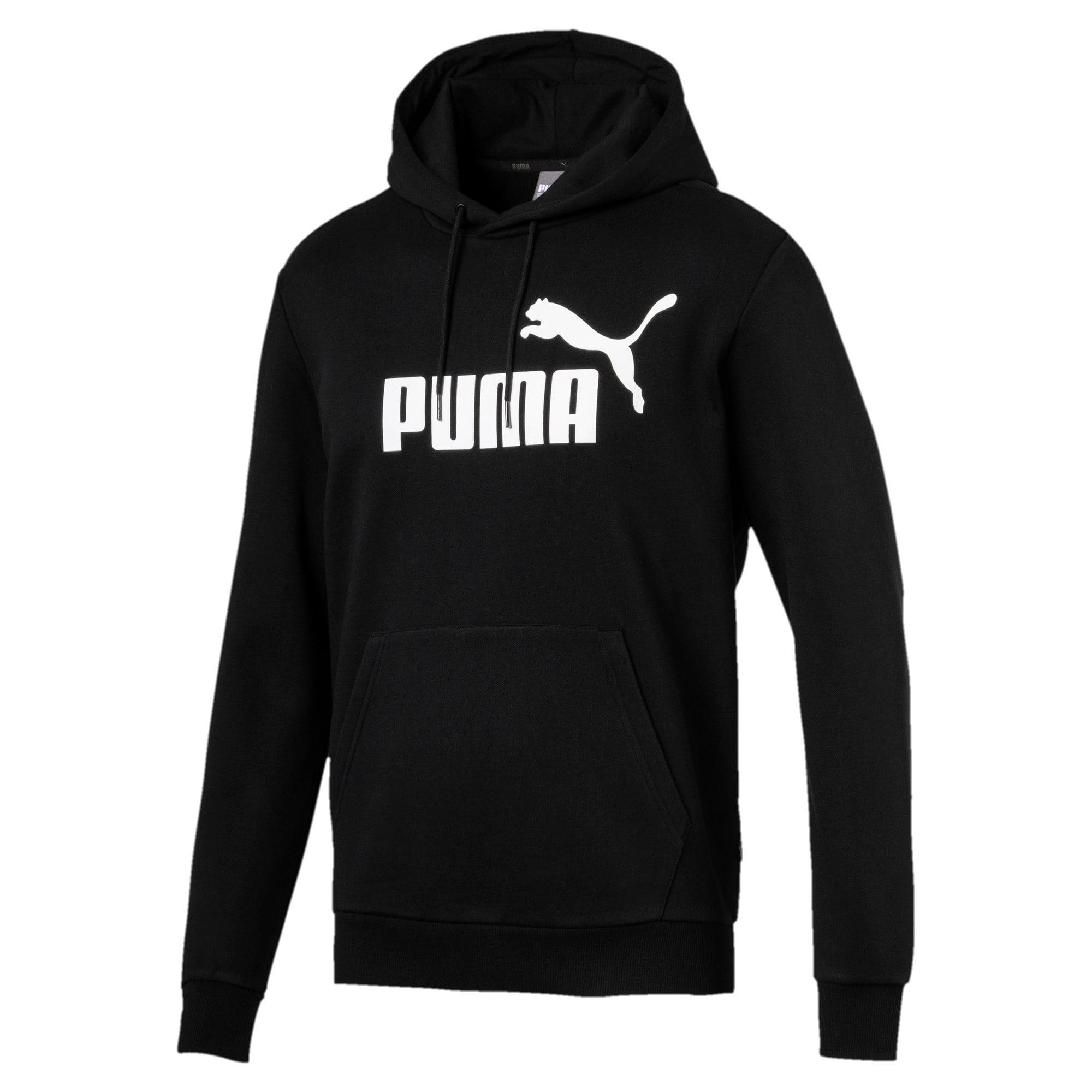 Thumbnail 4 van Essentials fleece hoodie voor mannen, Puma Black, medium