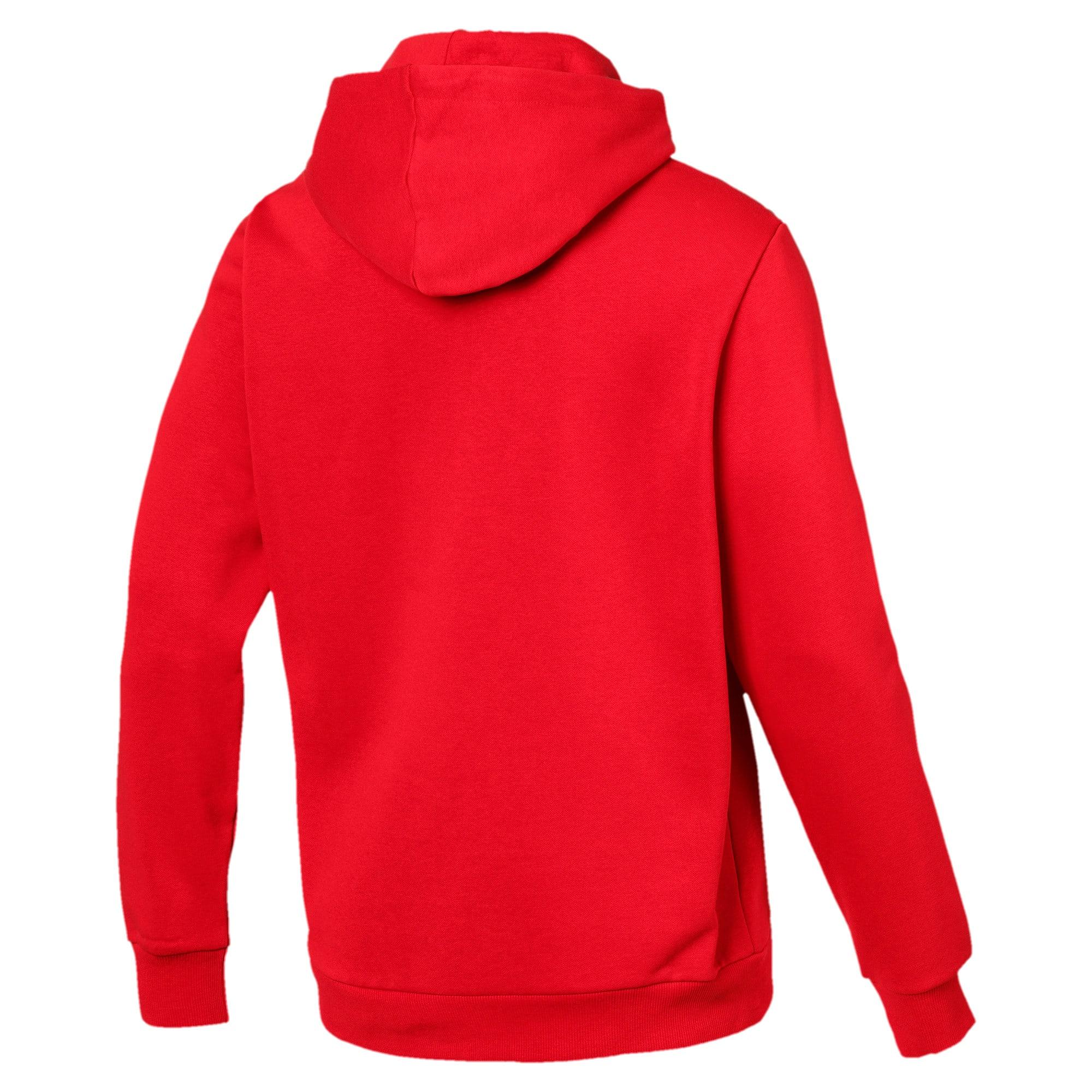 Thumbnail 5 van Essentials fleece hoodie voor mannen, Puma Red, medium