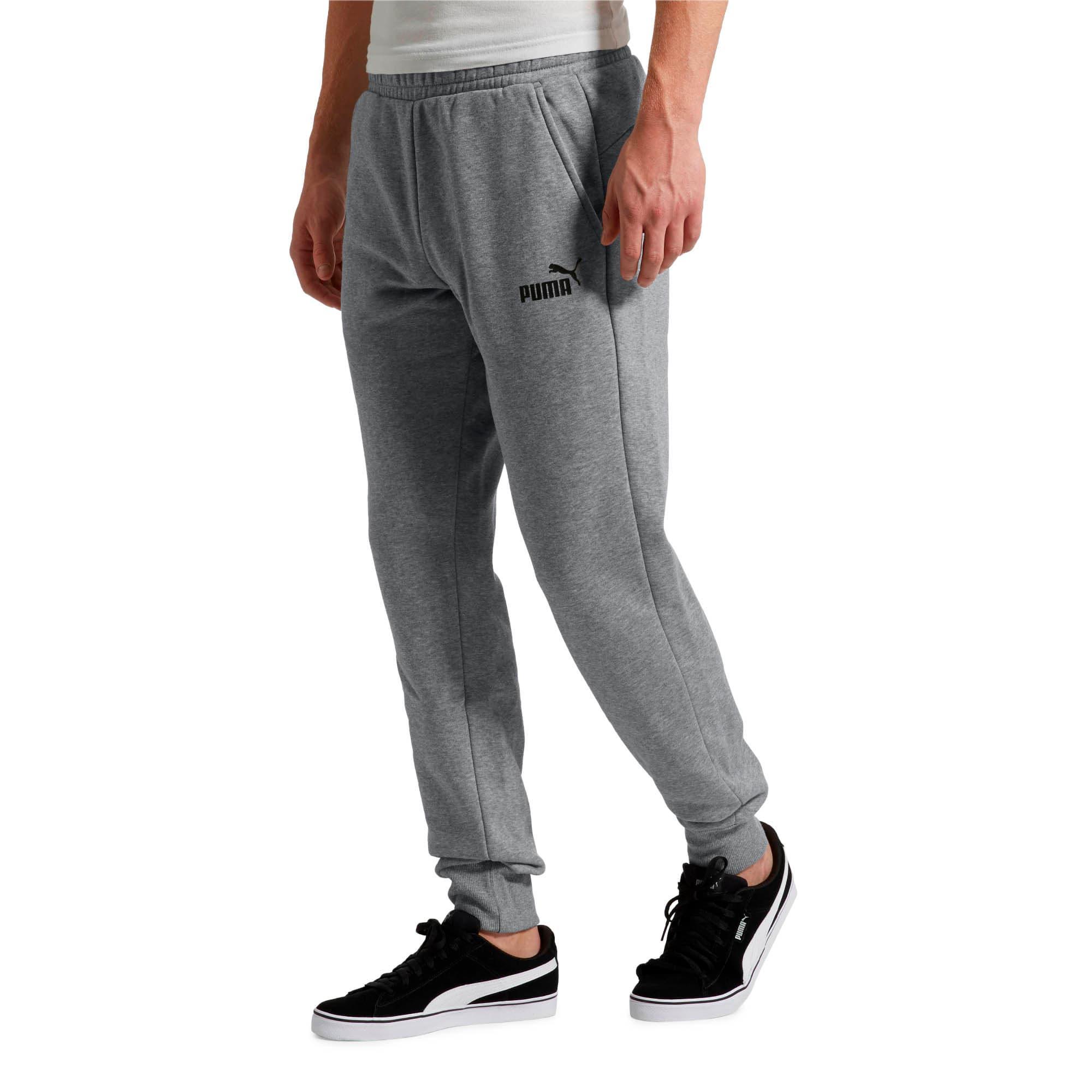 Thumbnail 1 of Essentials Men's Fleece Knit Pants, Medium Gray Heather, medium