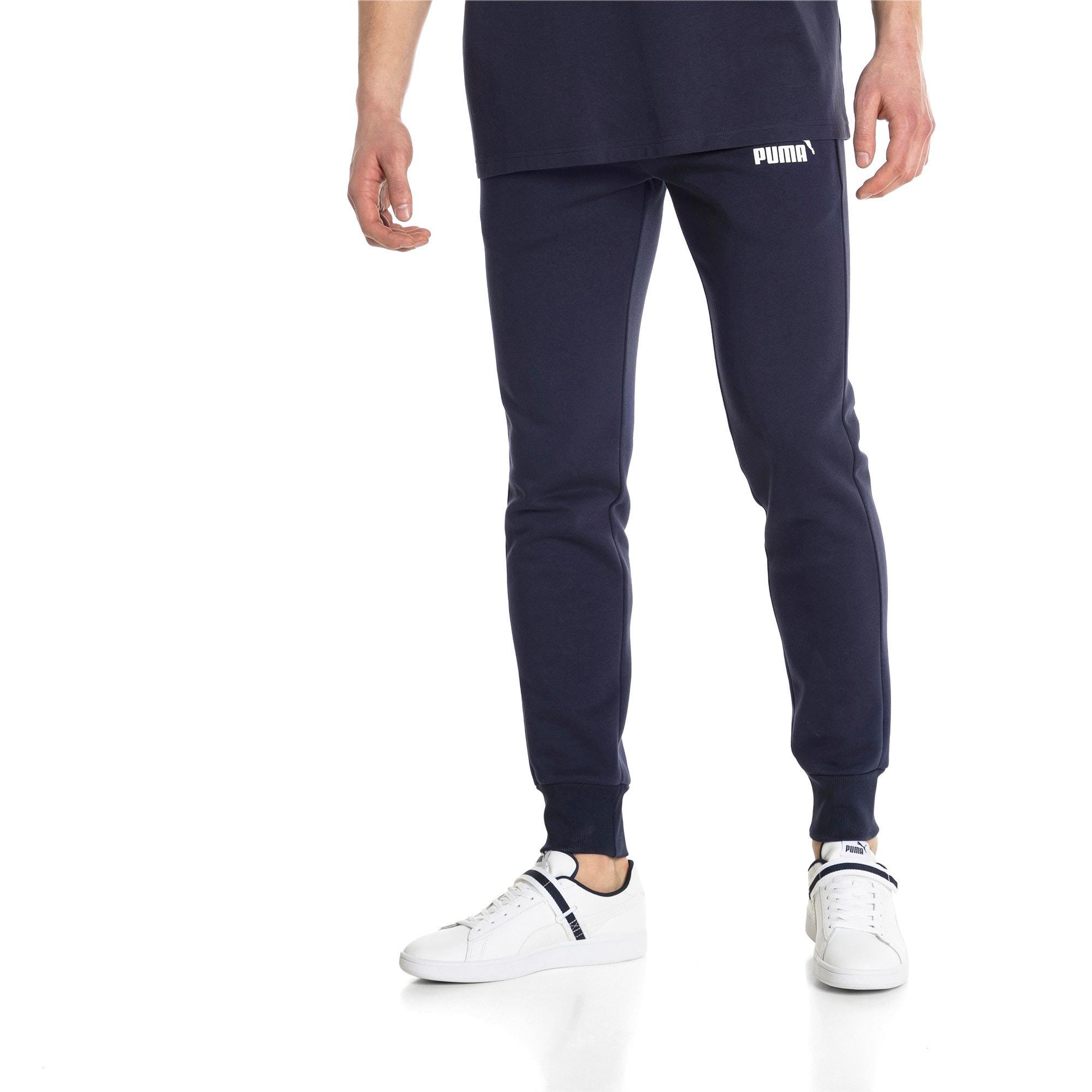 Essentials Men's Fleece Knit Pants, Peacoat, large