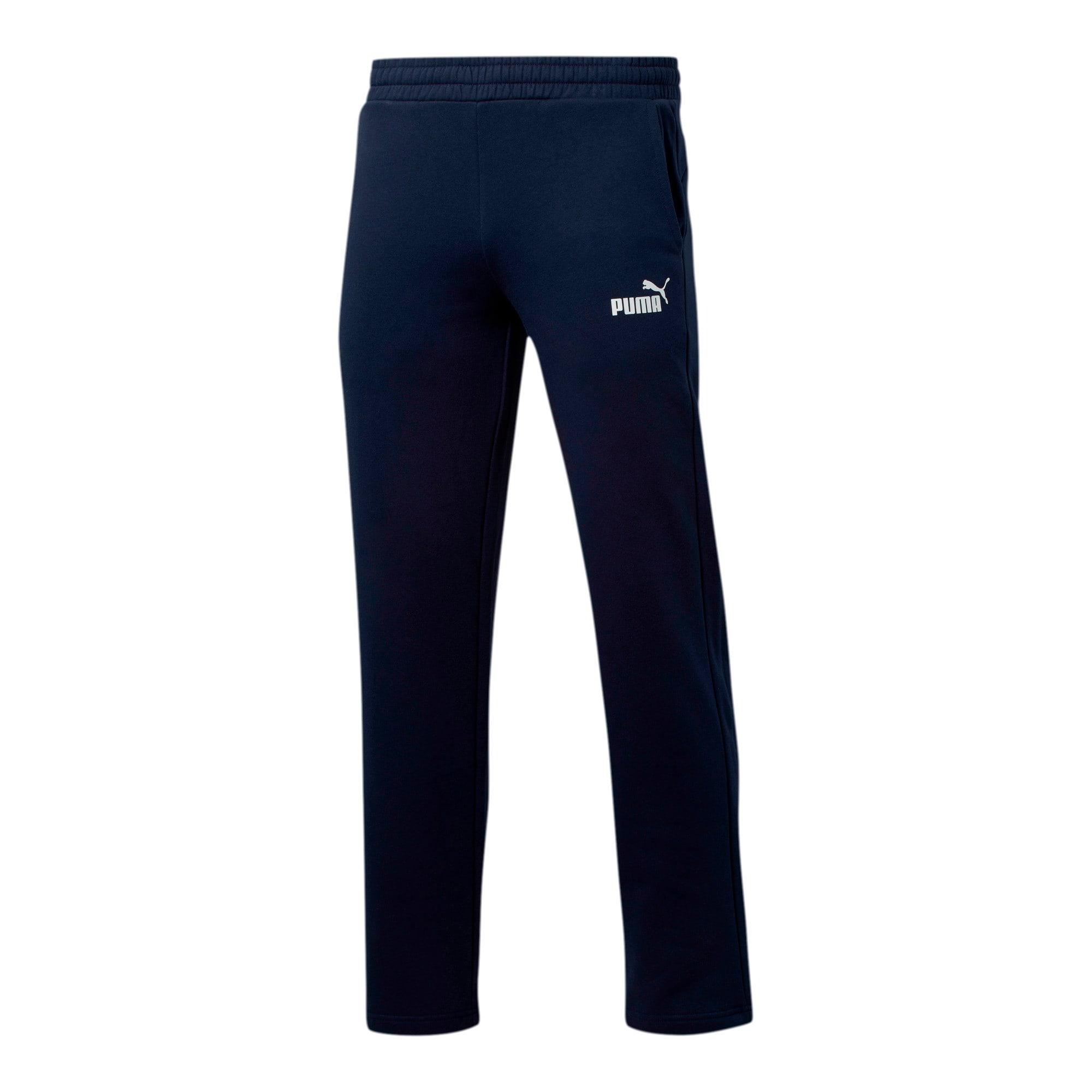 Essentials Men's Fleece Pants, Peacoat, large