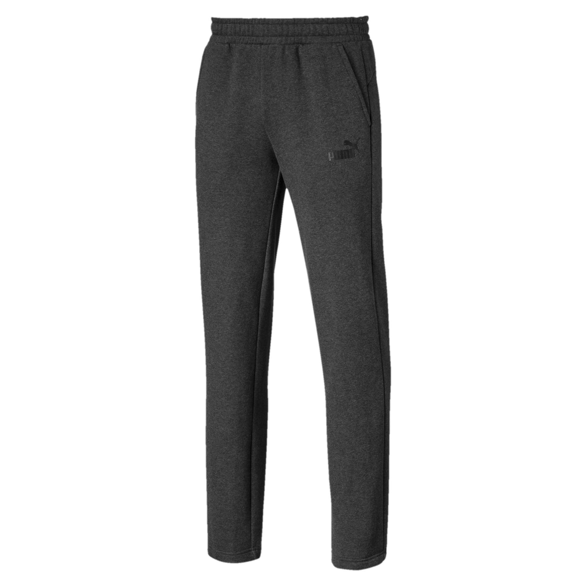 Thumbnail 1 of Essentials Men's Fleece Pants, Dark Gray Heather, medium