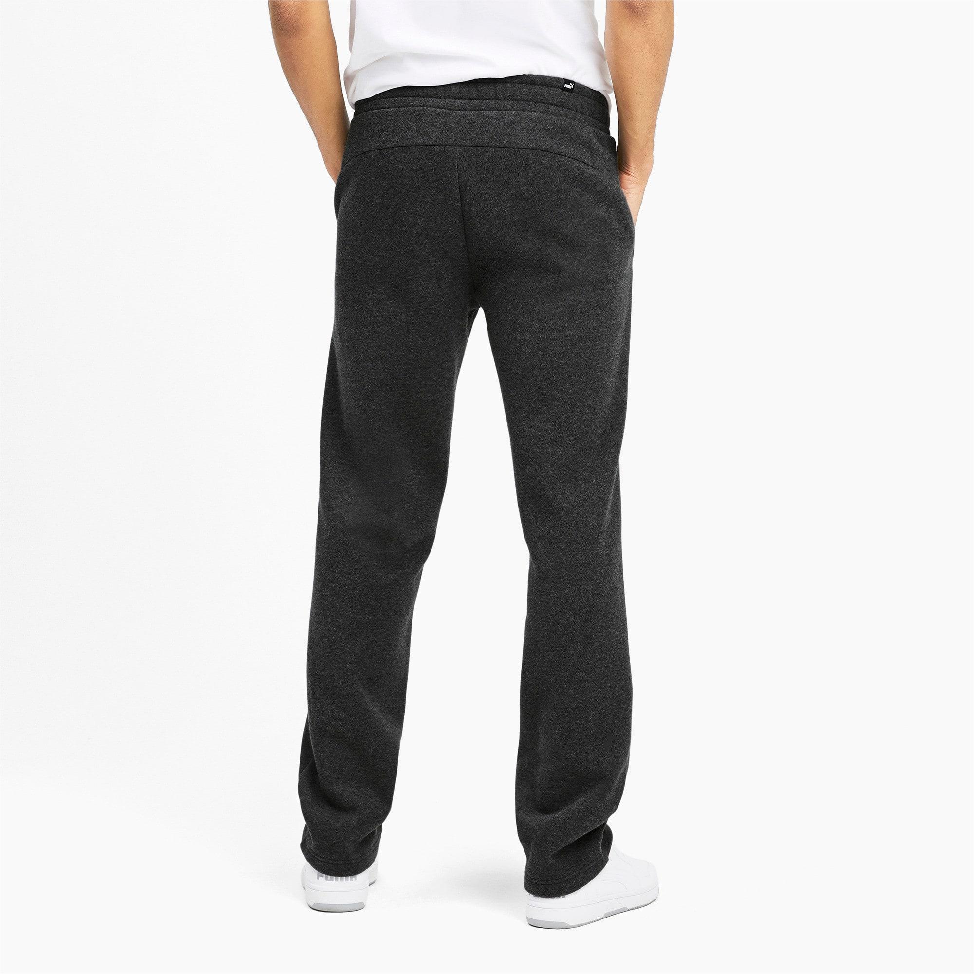 Thumbnail 3 of Essentials Men's Fleece Pants, Dark Gray Heather, medium