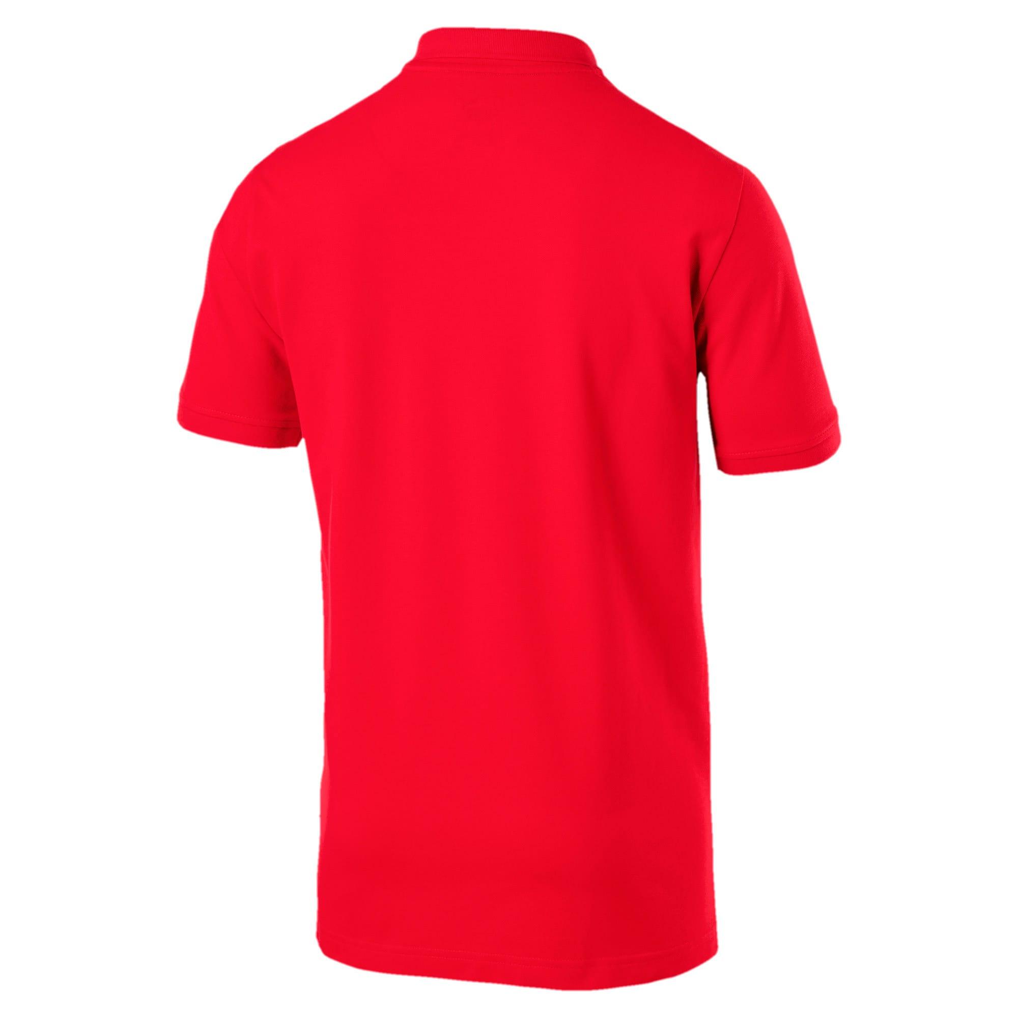 Thumbnail 5 van Essential polo met korte mouwen voor mannen, Puma Red, medium