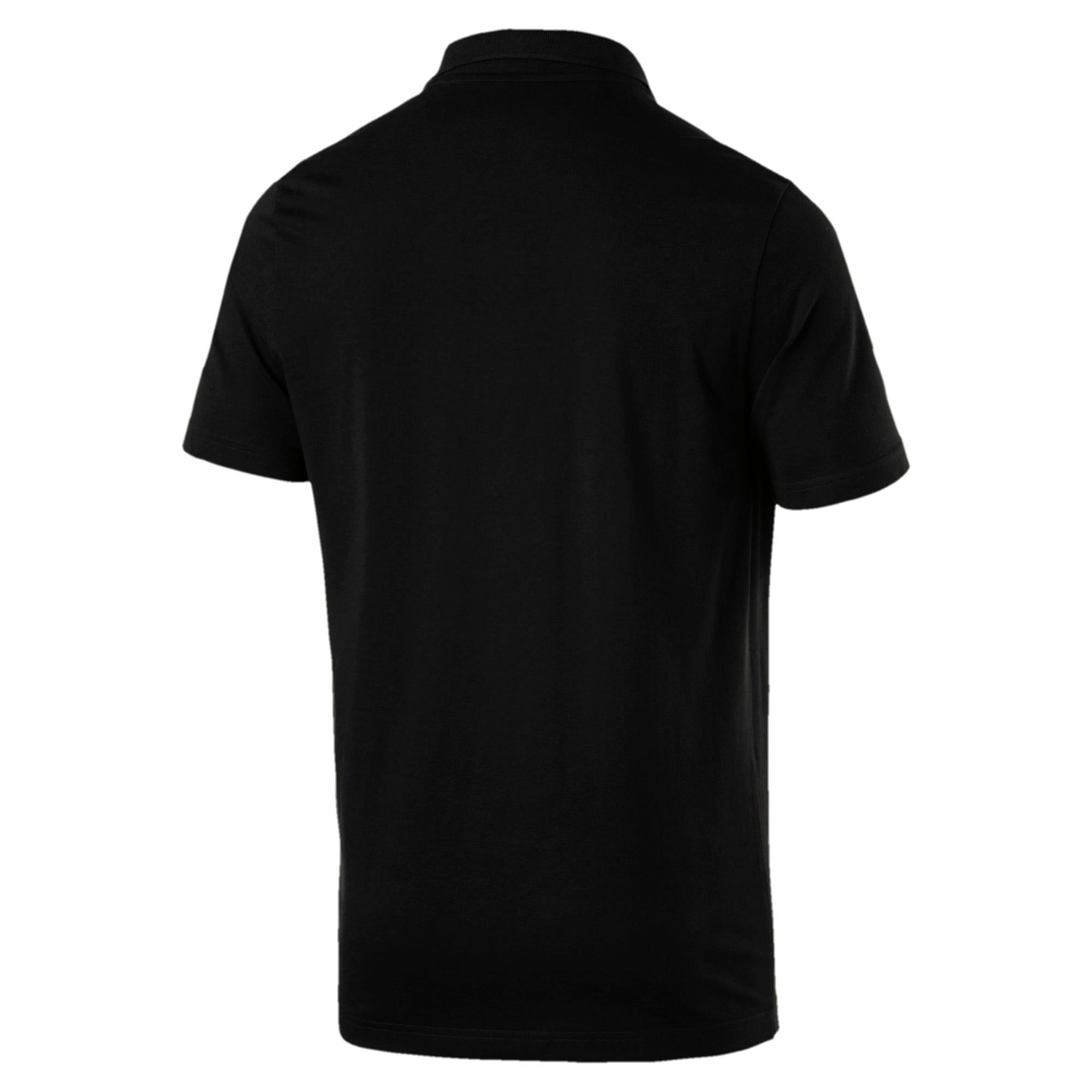Thumbnail 5 of Polo in jersey Essentials uomo, Cotton Black, medium