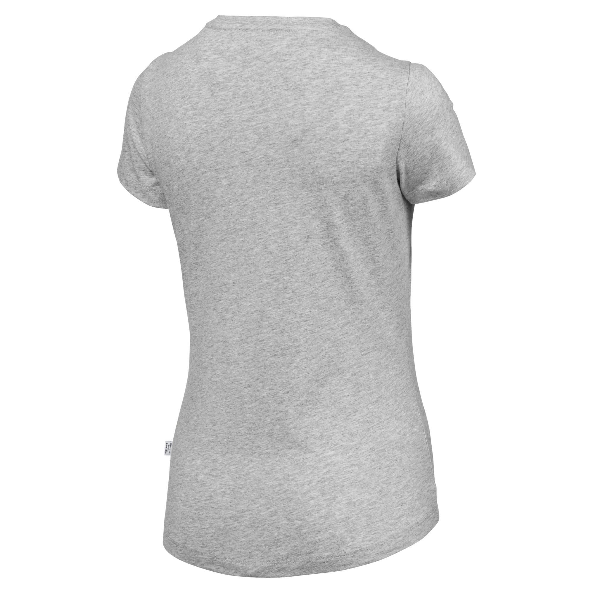 Thumbnail 5 of Essentials Women's Tee, Light Gray Heather, medium