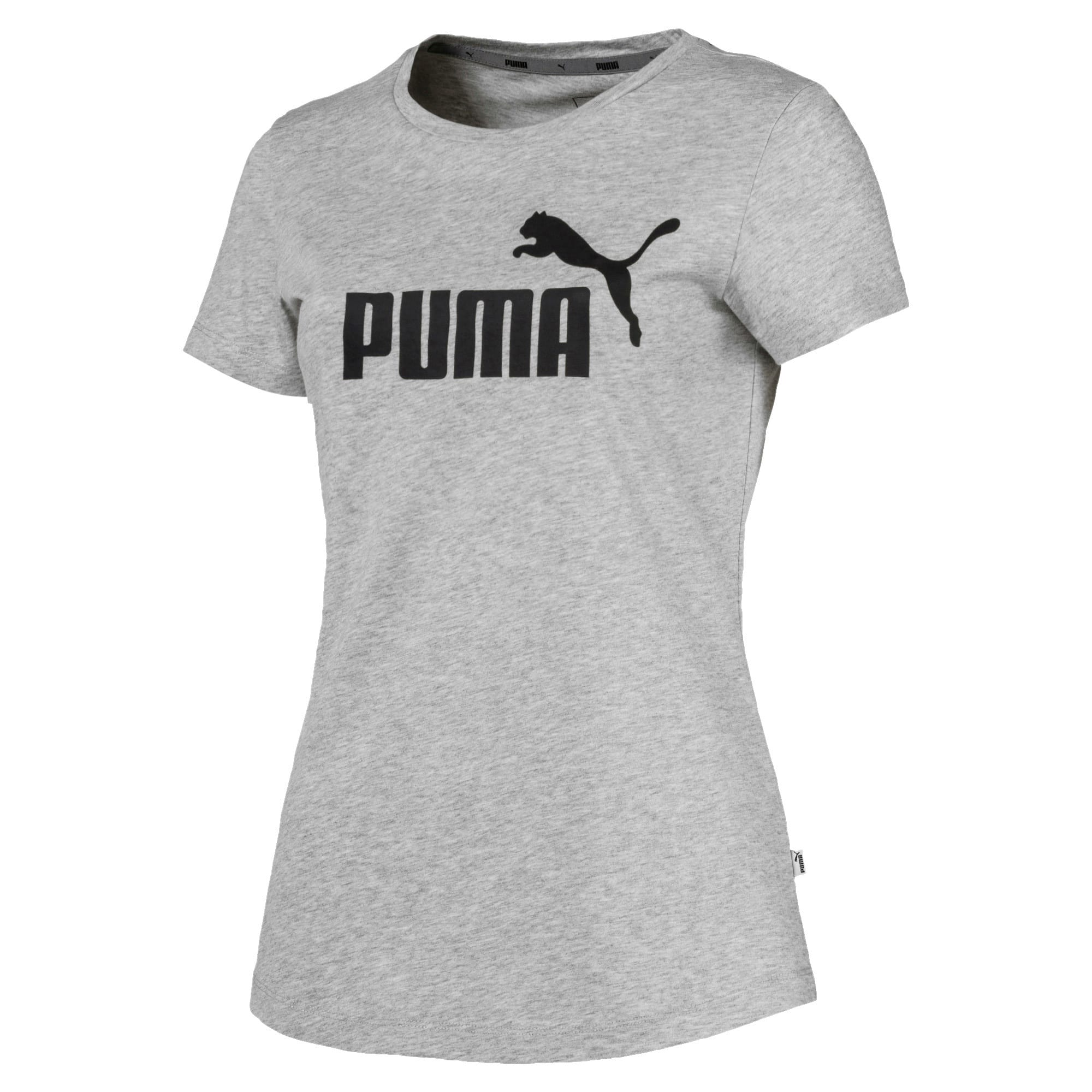Thumbnail 4 of Essentials Women's Tee, Light Gray Heather, medium