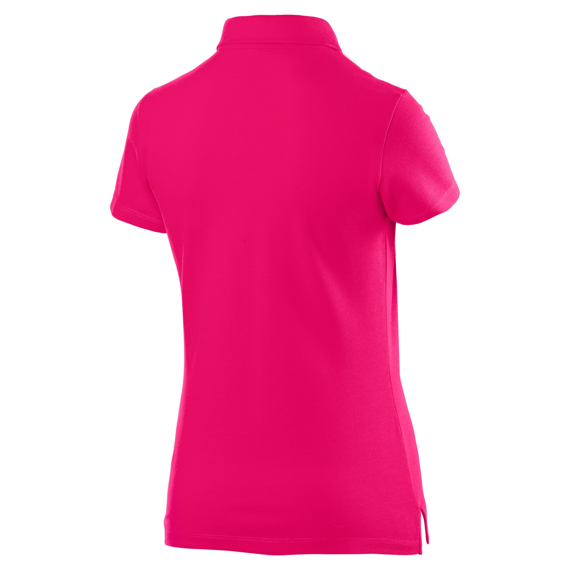 Thumbnail 5 of Essentials Women's Polo, Beetroot Purple-Cat, medium