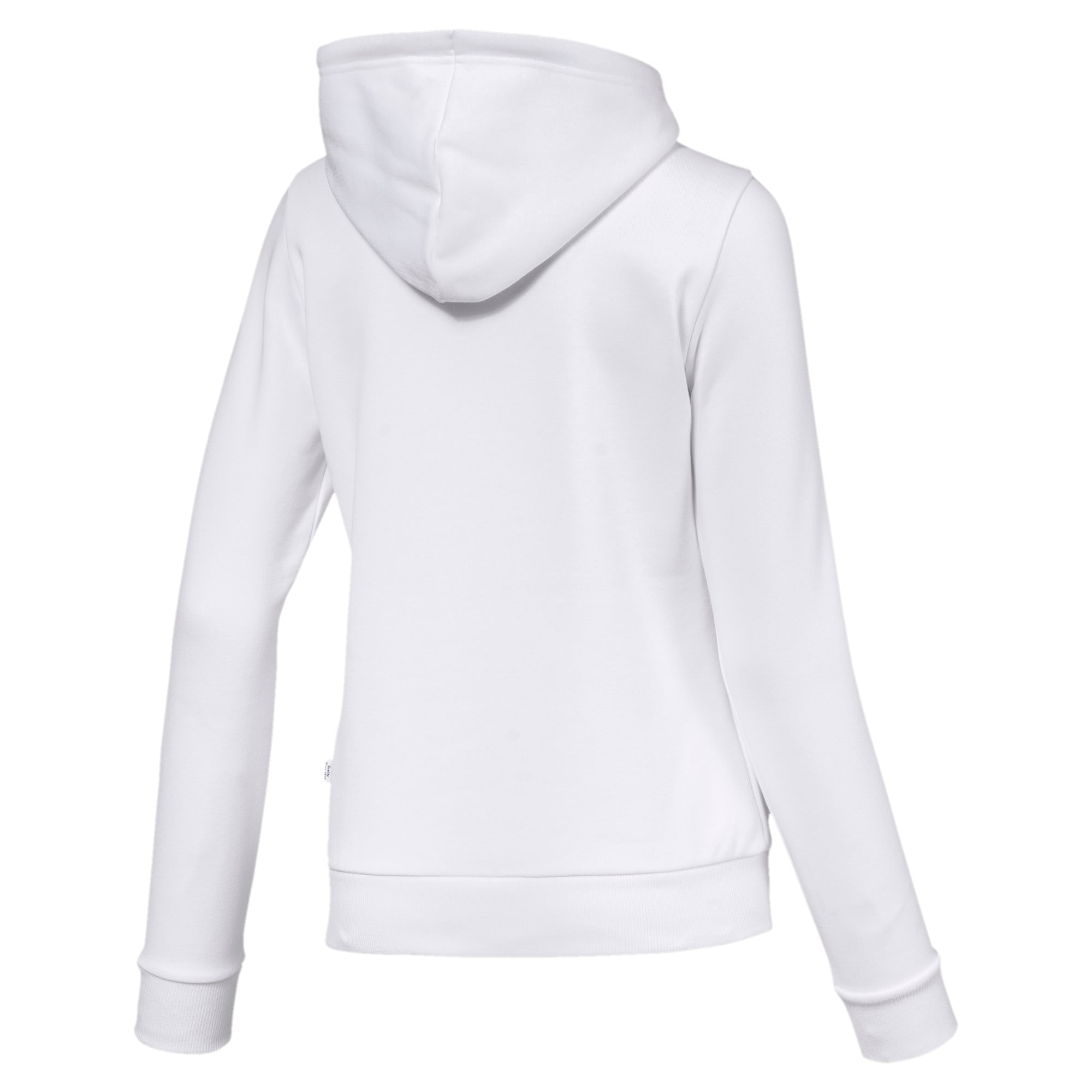 Thumbnail 5 of Essentials Damen Fleece Hoodie, Puma White, medium