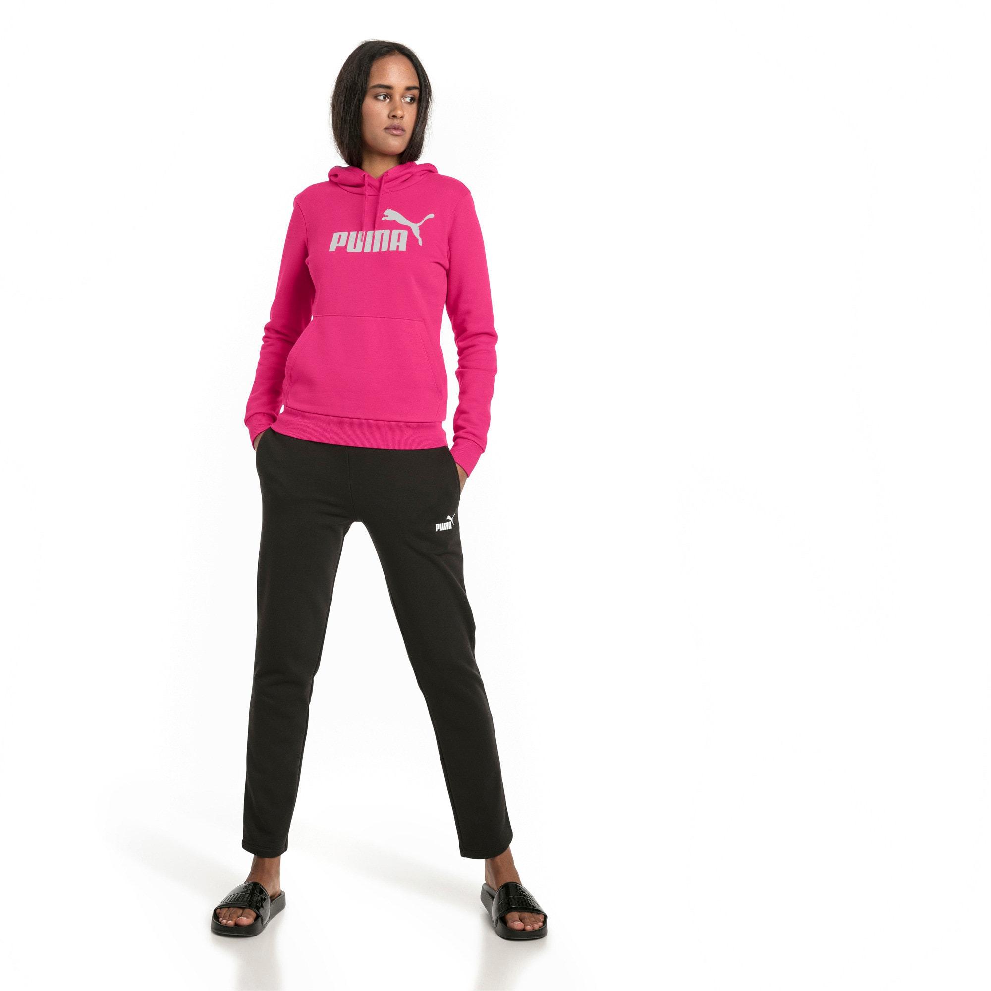 Thumbnail 3 of Essentials Fleece Women's Hoodie, Beetroot Purple, medium