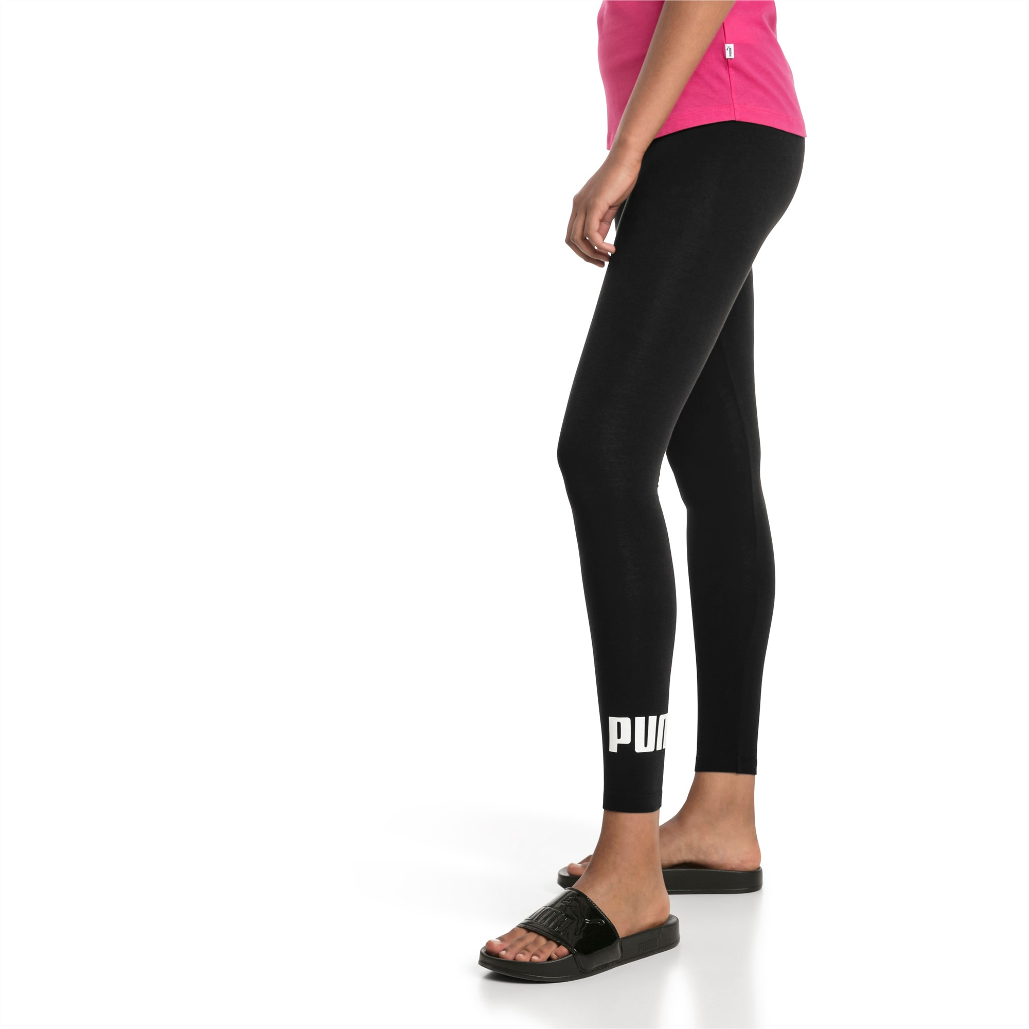 Damen Essentials Logo Leggings