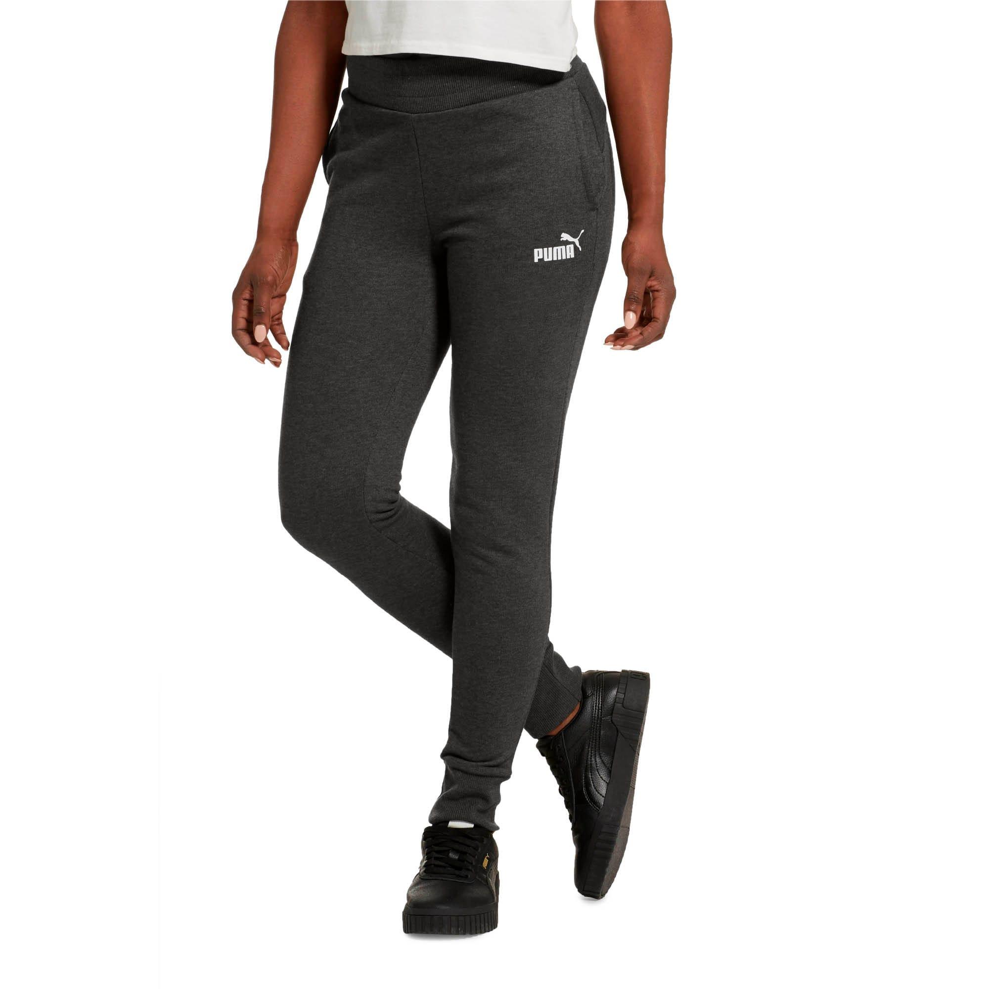 Thumbnail 2 of Essentials Women's Sweatpants, Dark Gray Heather, medium