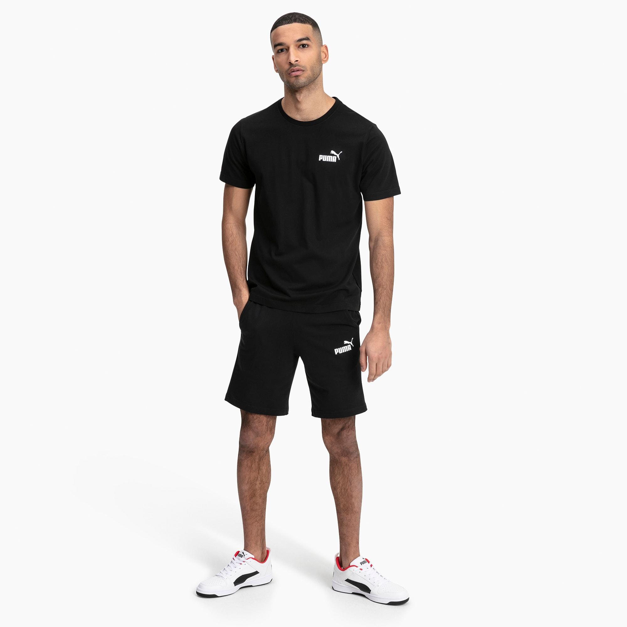 Essentials Jersey Herren Shorts | Puma Black | PUMA PUMA