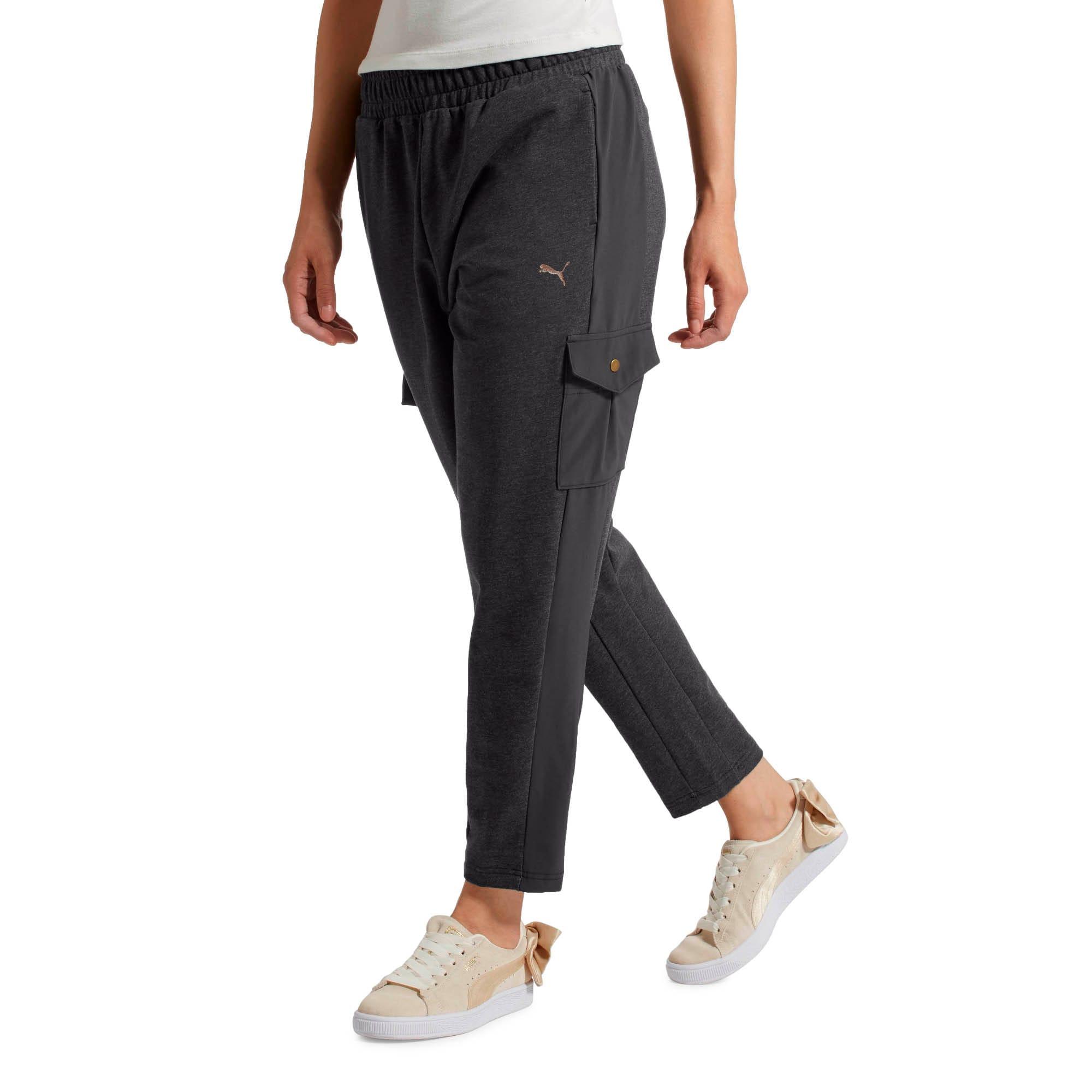 Thumbnail 2 of FUSION Pants, Dark Gray Heather, medium