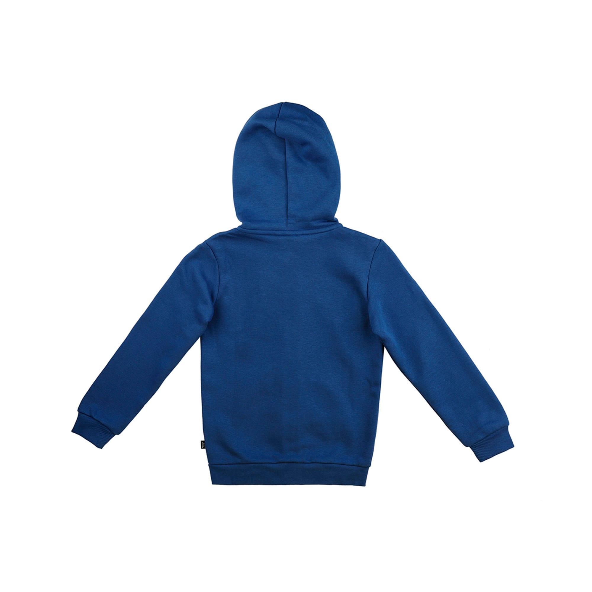 Thumbnail 2 of Essentials Hooded Boys' Jacket, Galaxy Blue, medium-IND