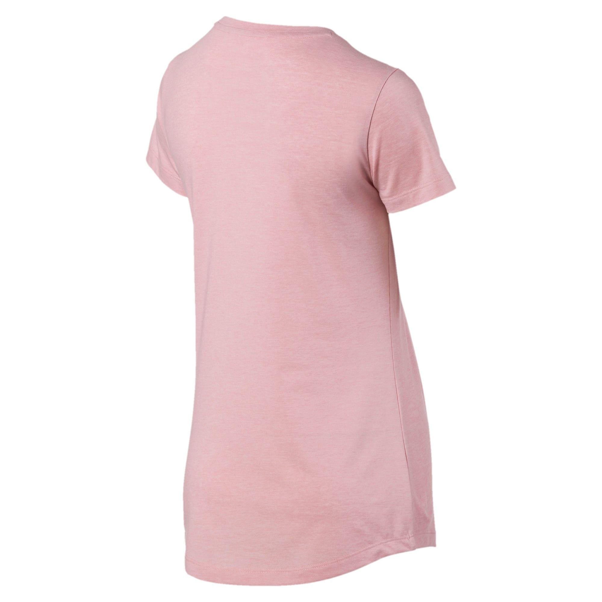 Thumbnail 5 of Essentials Heather Damen T-Shirt, Bridal Rose, medium