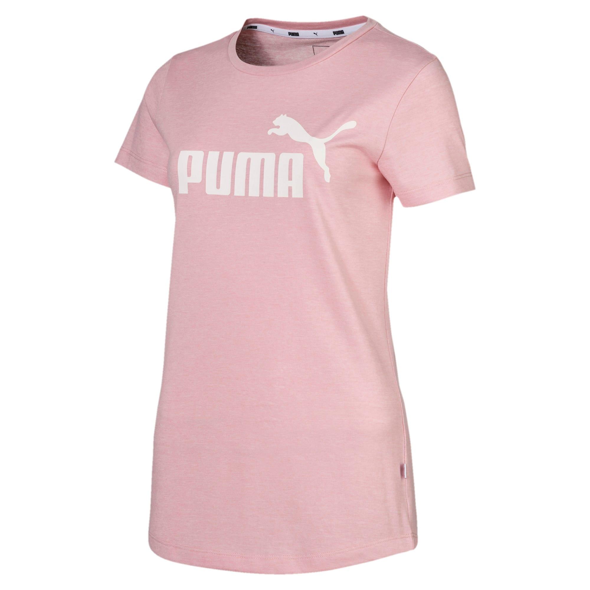 Thumbnail 4 of Essentials Heather Damen T-Shirt, Bridal Rose, medium
