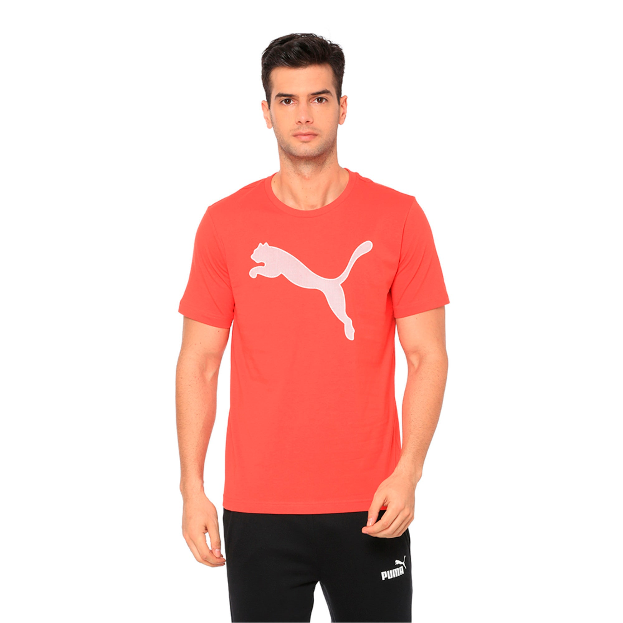 Thumbnail 1 of Active P48 Modern Sports Men's Tee, High Risk Red, medium-IND