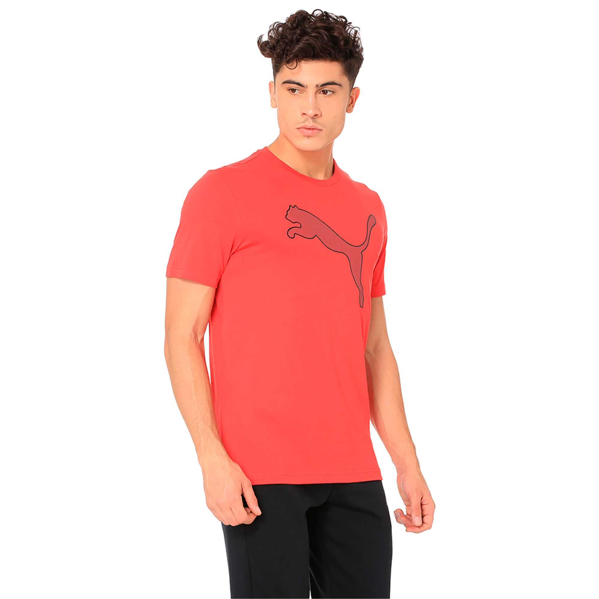 Thumbnail 5 of Active P48 Modern Sports Men's Tee, Ribbon Red, medium-IND