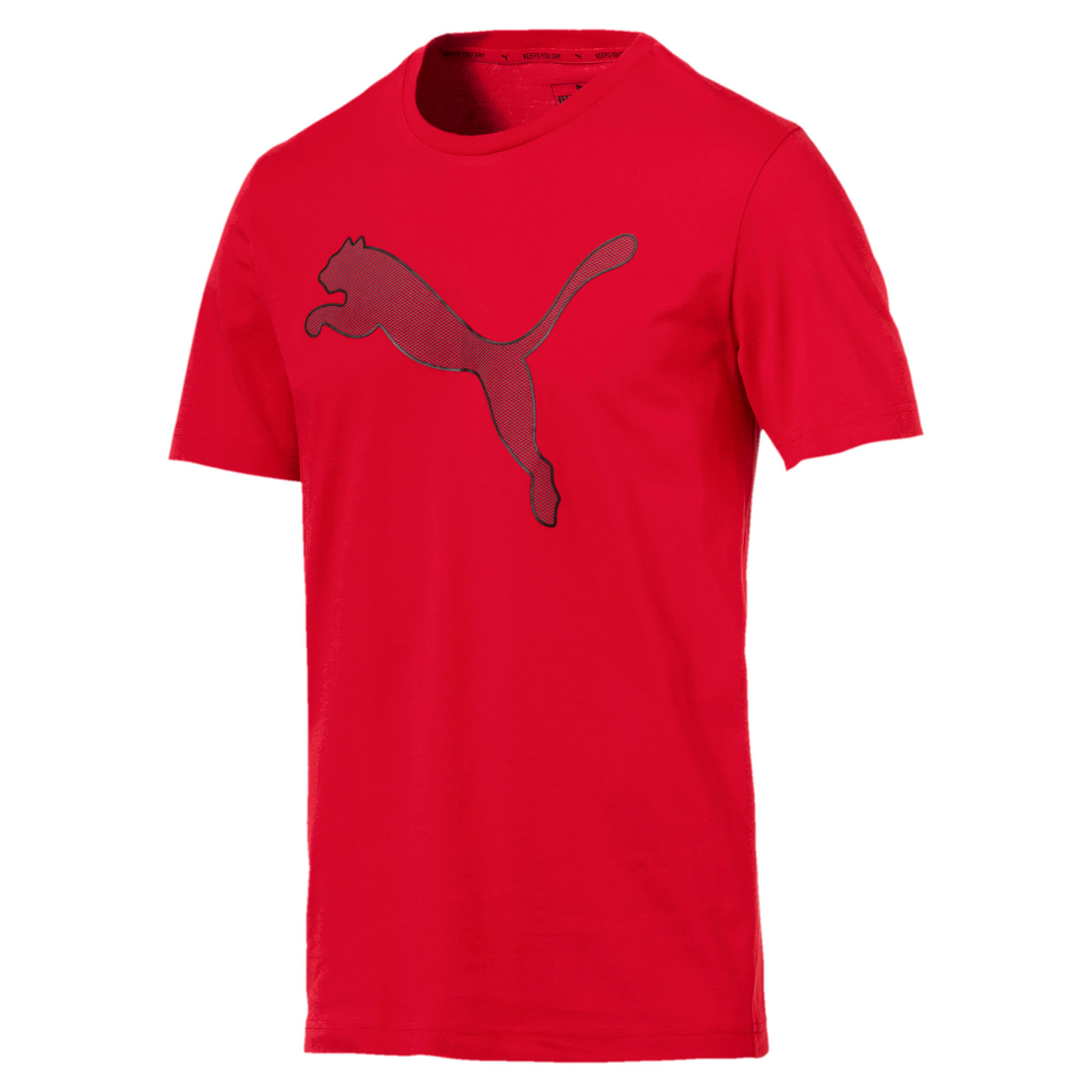 Thumbnail 4 of Active P48 Modern Sports Men's Tee, Ribbon Red, medium-IND