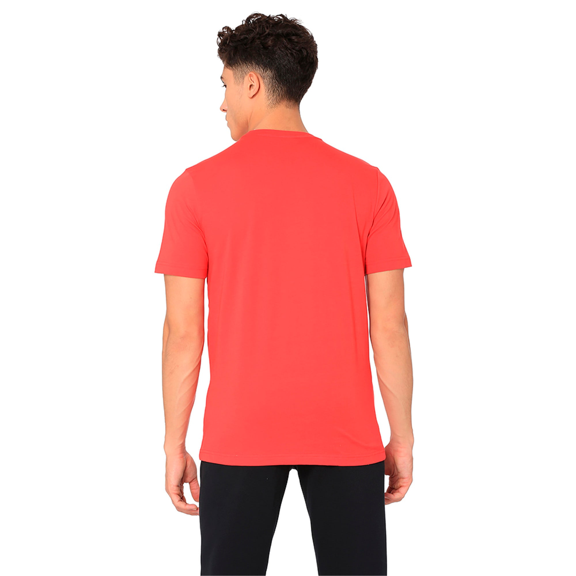 Thumbnail 2 of Active P48 Modern Sports Men's Tee, Ribbon Red, medium-IND