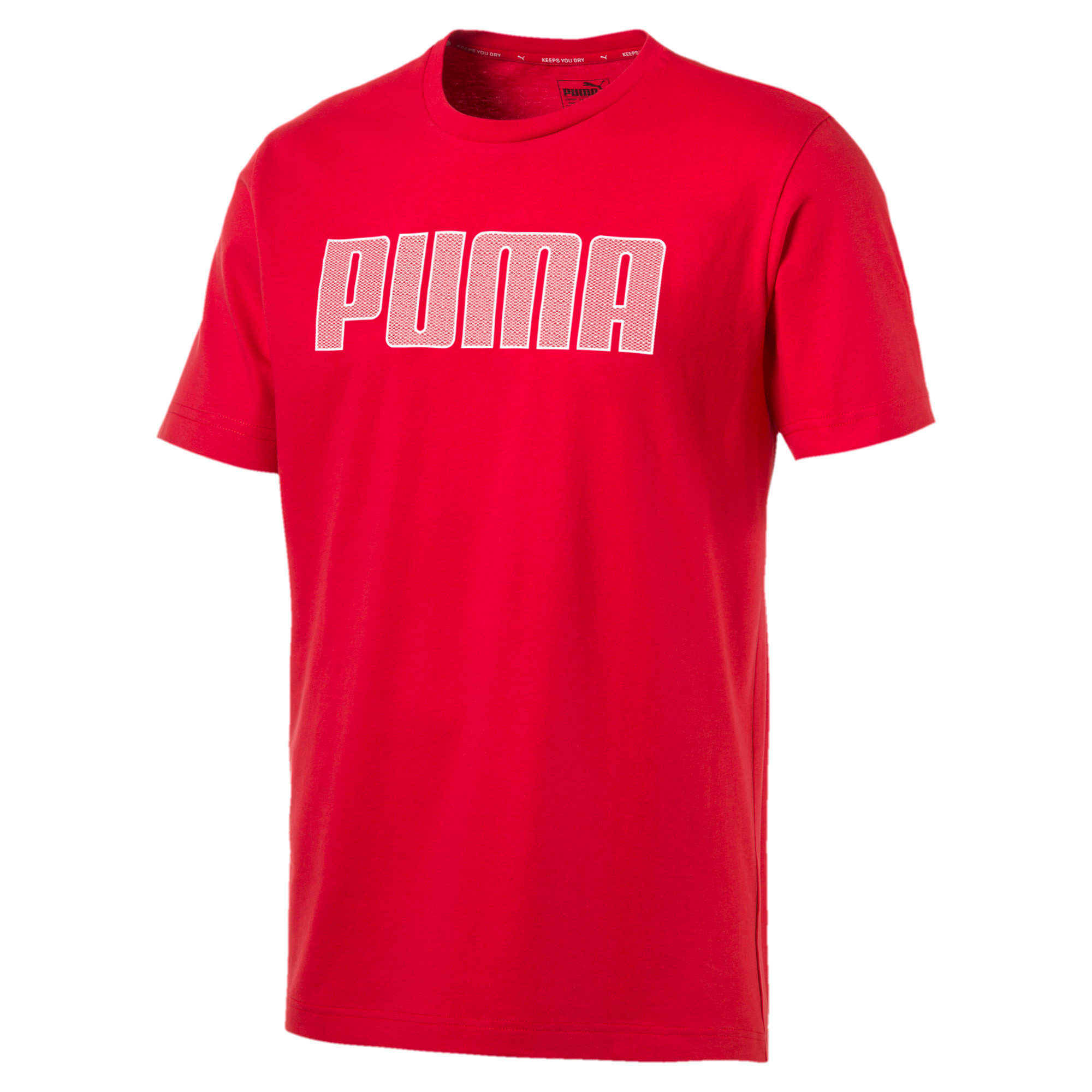 Thumbnail 5 of Active P48 Modern Sports Men's Tee, High Risk Red, medium-IND