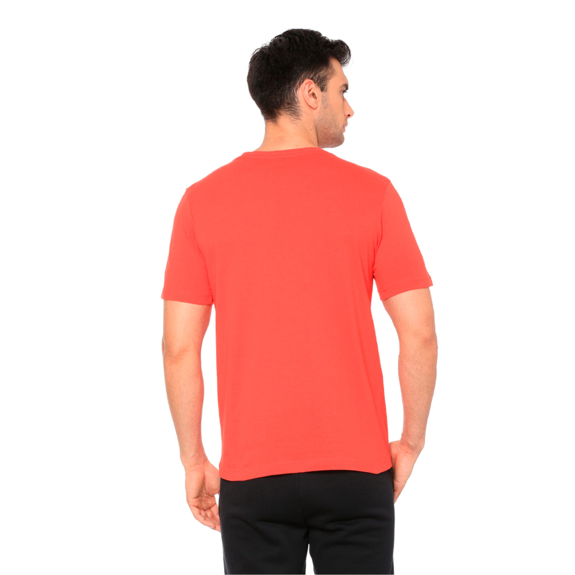 Thumbnail 2 of Active P48 Modern Sports Men's Tee, High Risk Red, medium-IND