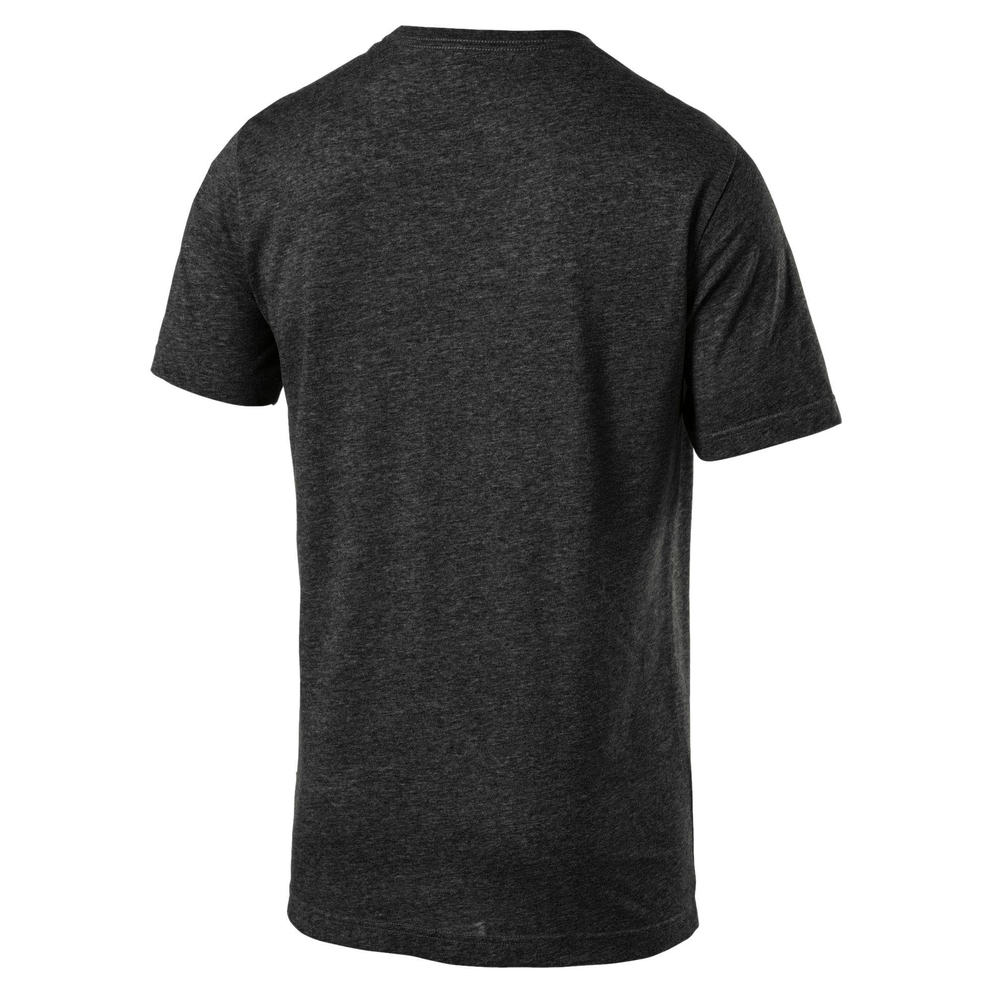 Thumbnail 2 of Indispensabili+ T-shirt mélange uomo, Puma Black Heather, medium