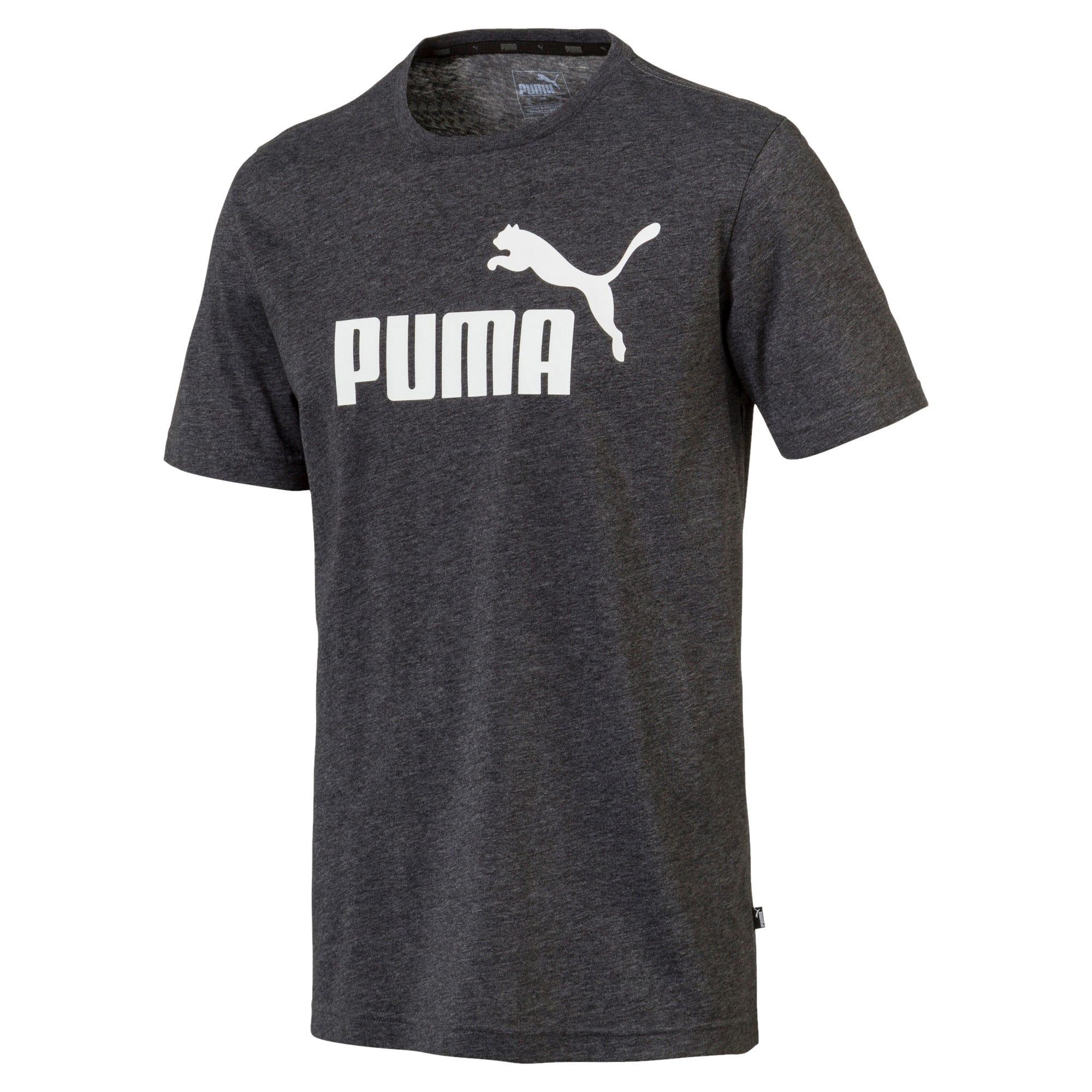 Thumbnail 1 of Indispensabili+ T-shirt mélange uomo, Puma Black Heather, medium