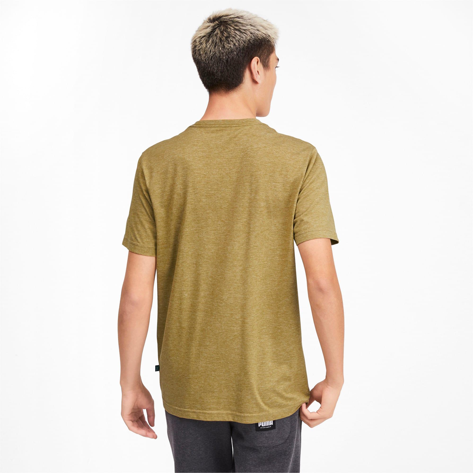 Thumbnail 2 of Meska koszulka Essentials+ Heathered, Moss Green Heather, medium