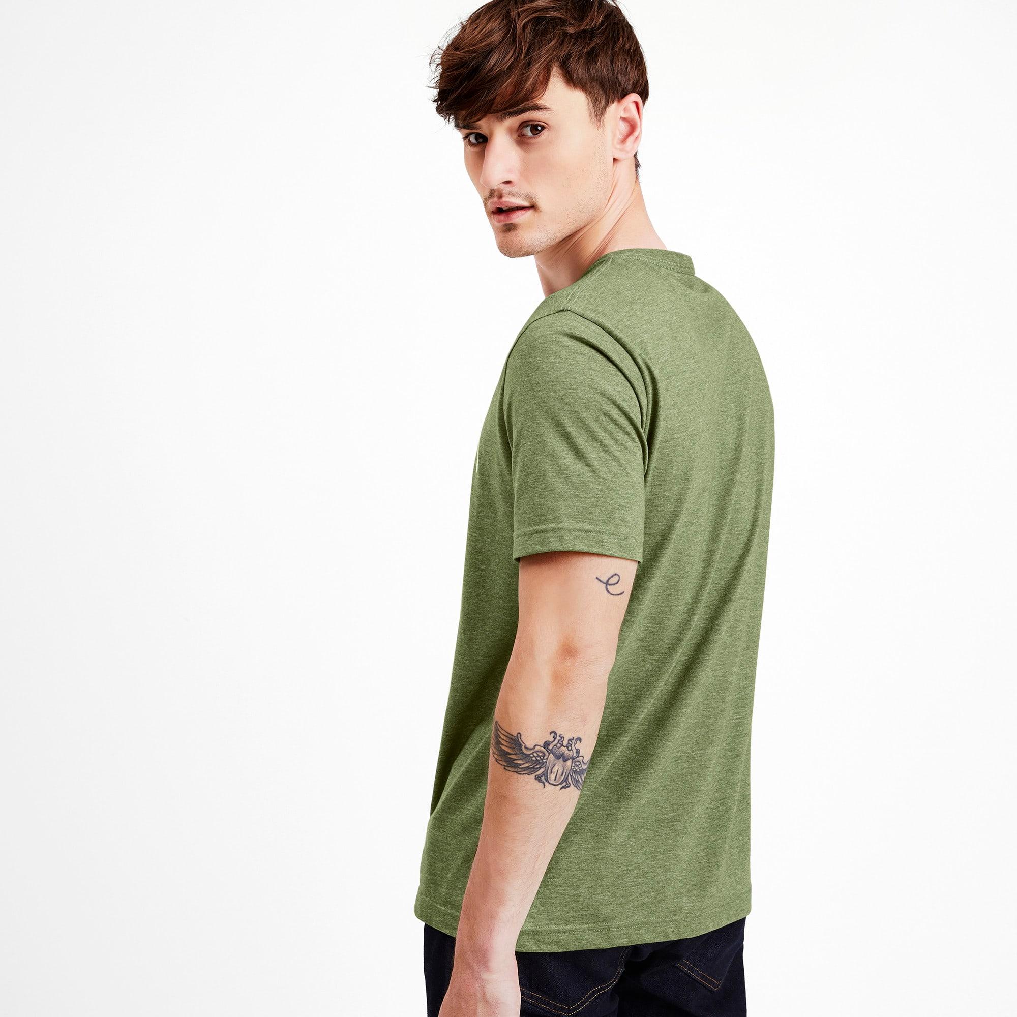 Thumbnail 2 of Indispensabili+ T-shirt mélange uomo, Garden Green Heather, medium