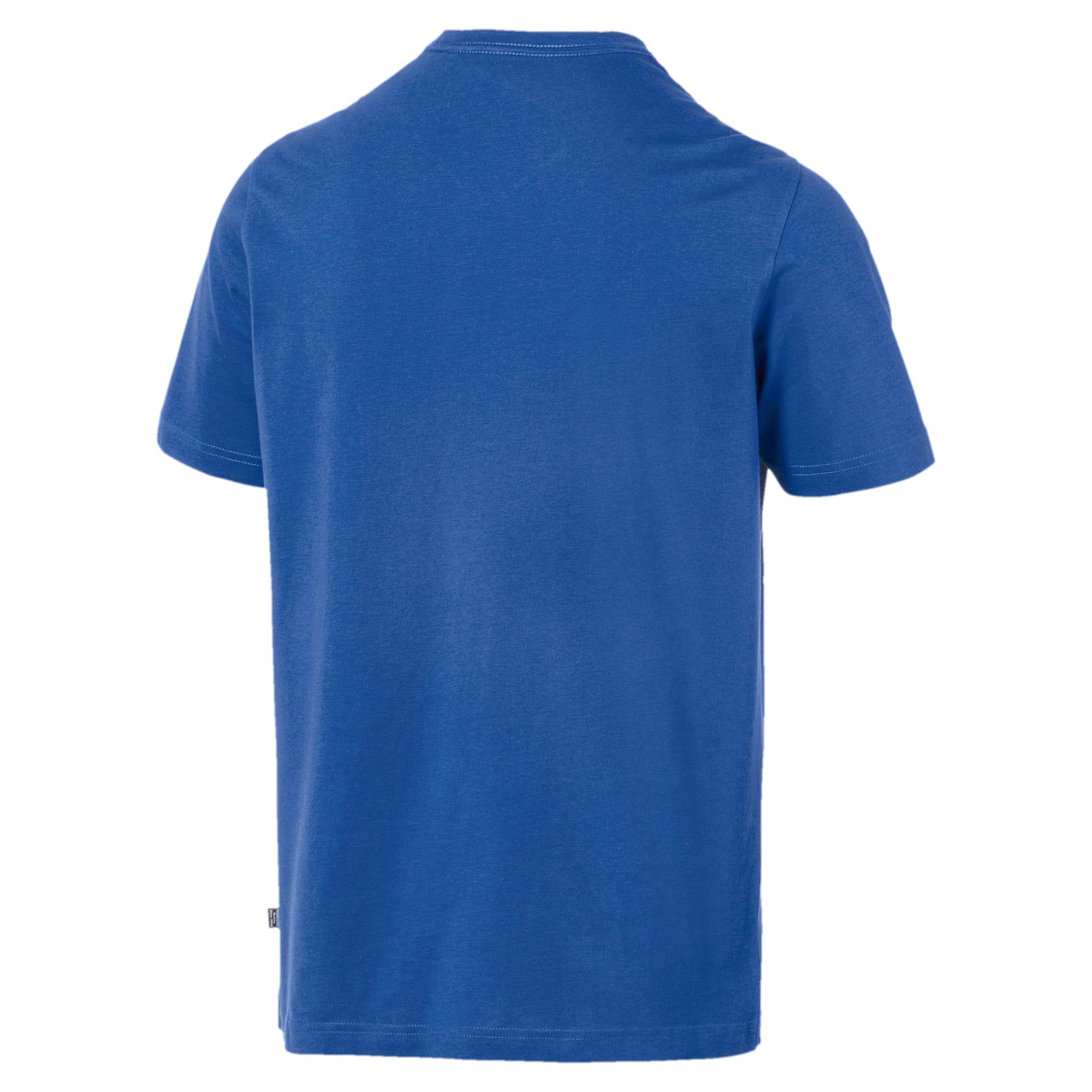 Thumbnail 5 of T-shirt con scollo a V Essentials uomo, Galaxy Blue, medium