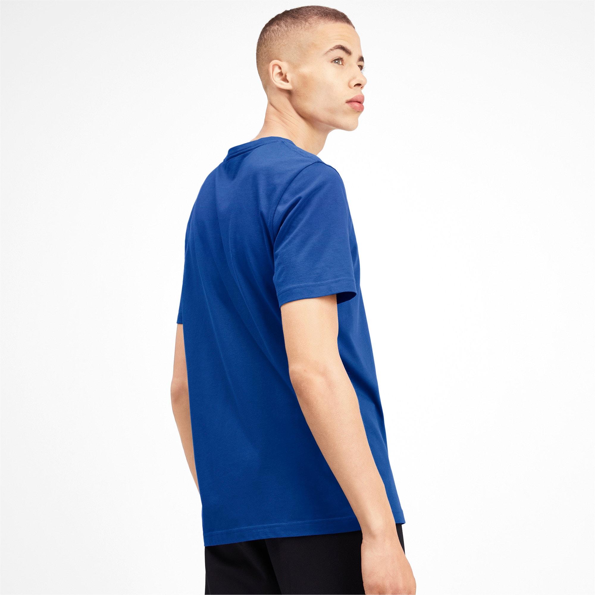 Thumbnail 2 of T-shirt con scollo a V Essentials uomo, Galaxy Blue, medium