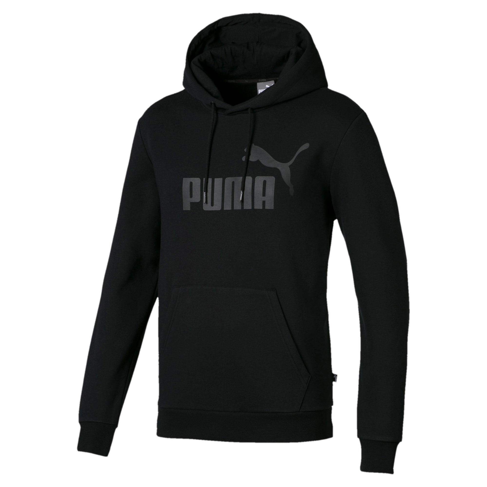 Thumbnail 1 of Essentials fleece hoodie voor heren, Cotton Black, medium