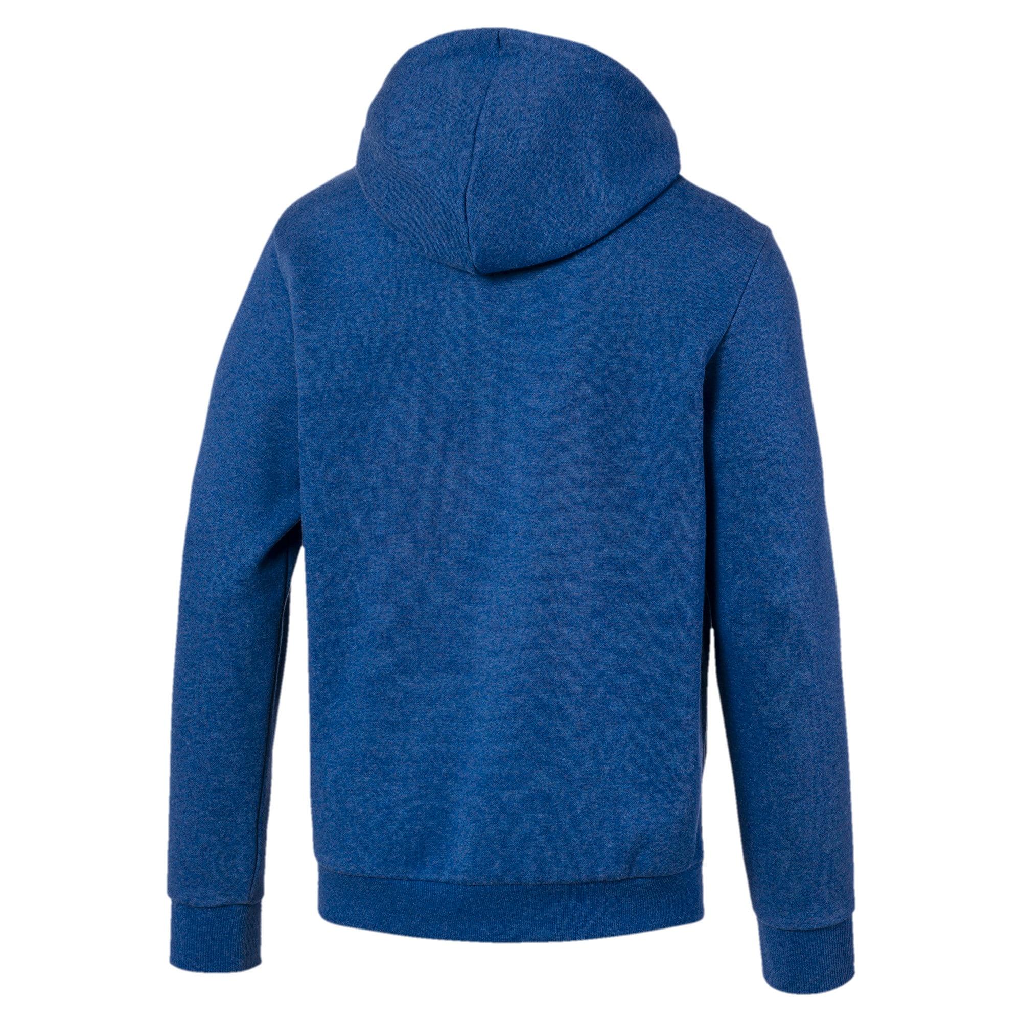 Thumbnail 5 of Essentials+ Men's Fleece Hoodie, Galaxy Blue Heather, medium