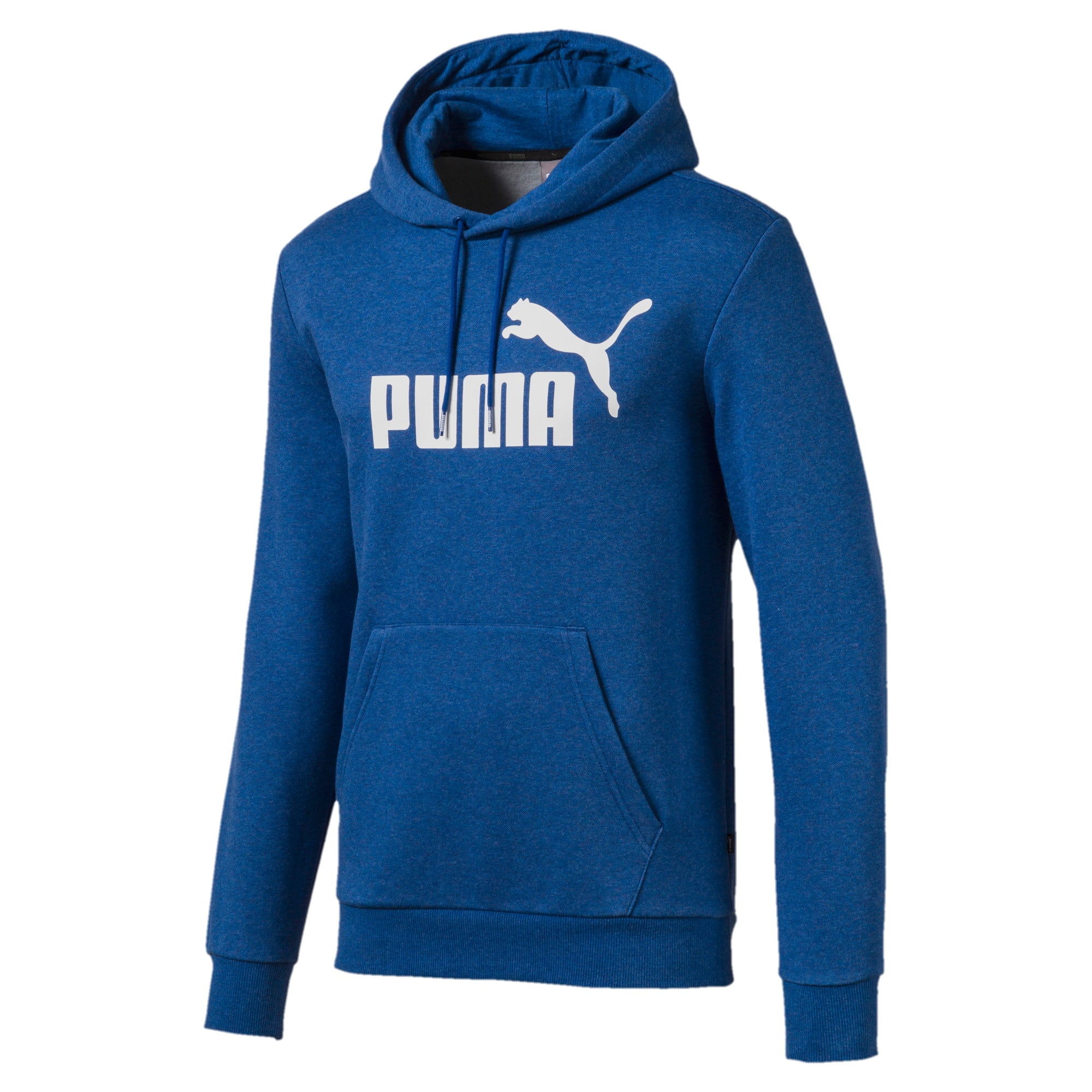 Thumbnail 4 of Essentials fleece hoodie voor heren, Galaxy Blue Heather, medium