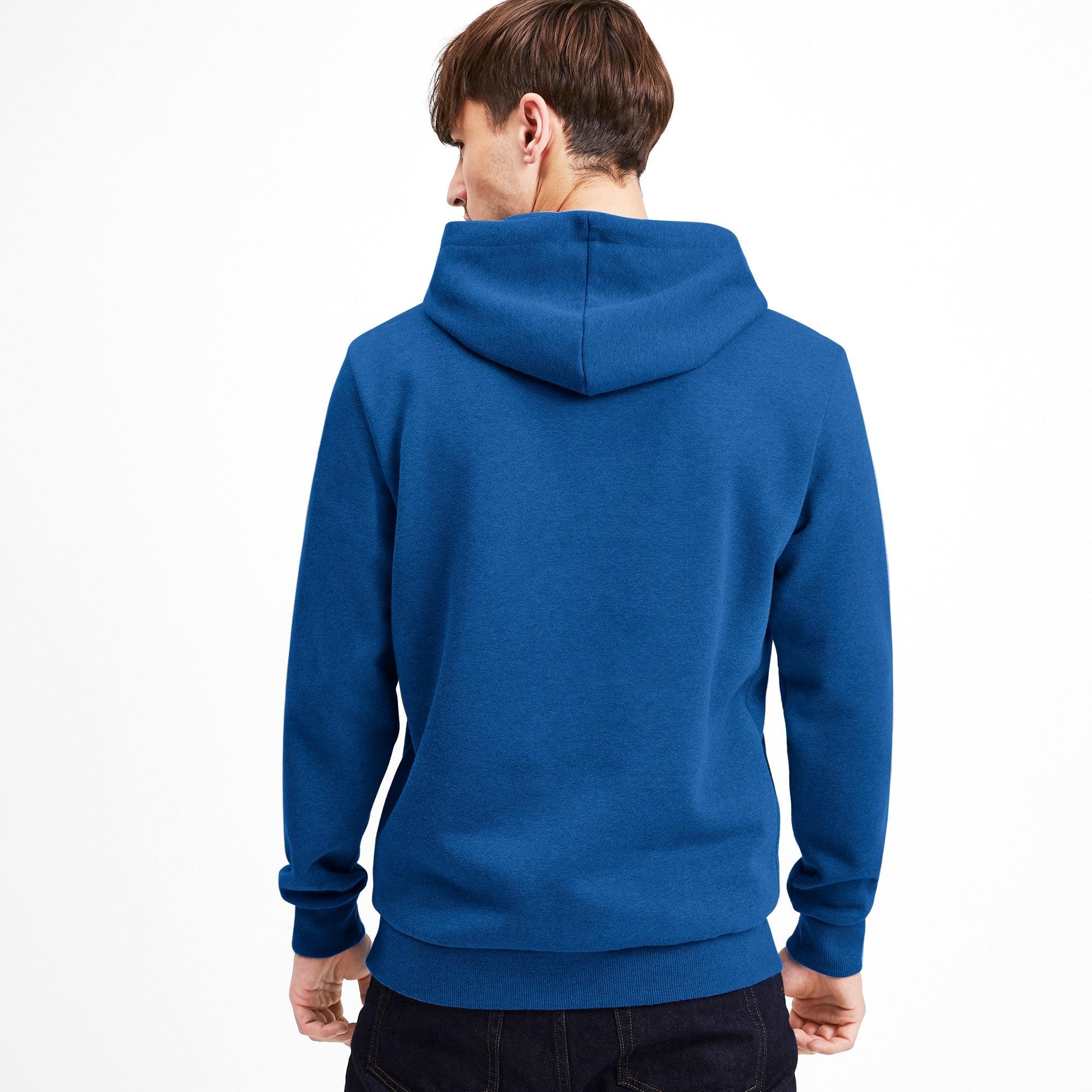 Thumbnail 2 of Essentials fleece hoodie voor heren, Galaxy Blue Heather, medium